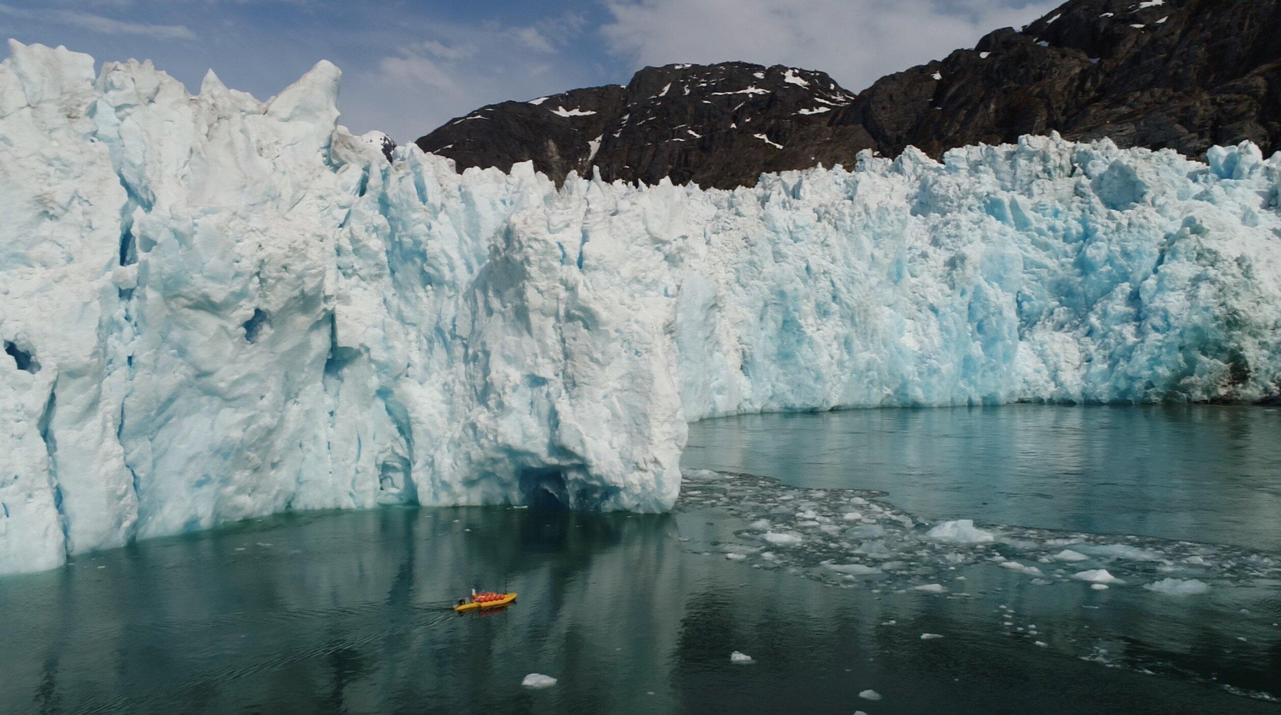 Laut transgresi umumnya terbentuk karena terjadi pencairan dari gletser gletser besar di kutub utara maupun selatan