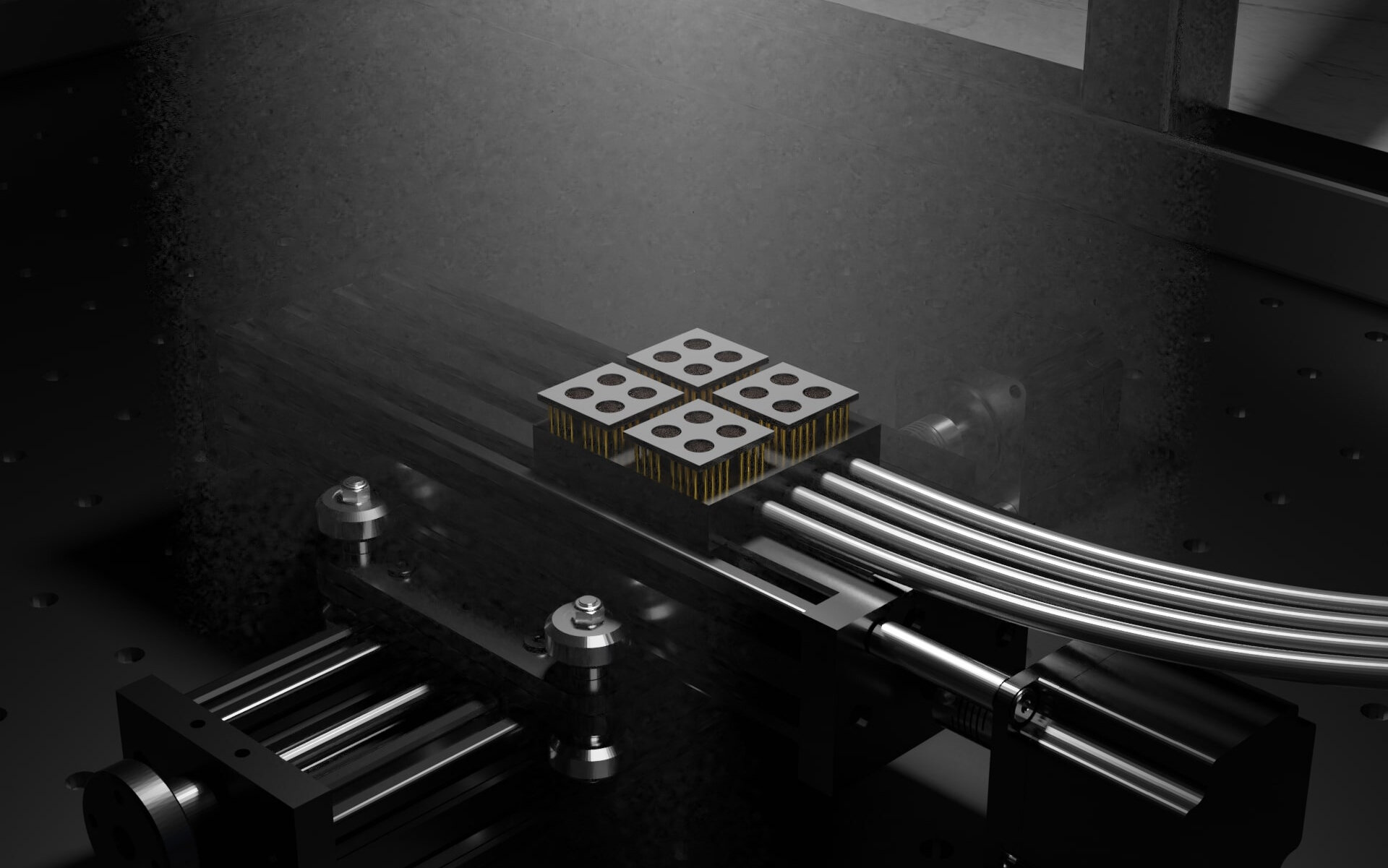 3-D-printed system speeds up solar cell testing from hours to minutes