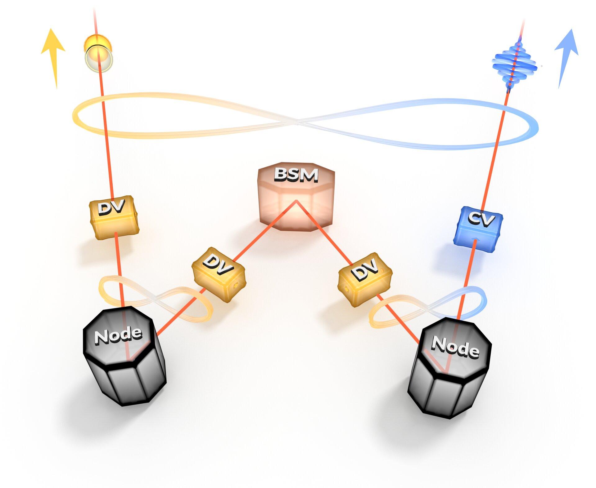 Connecting the quantum internet