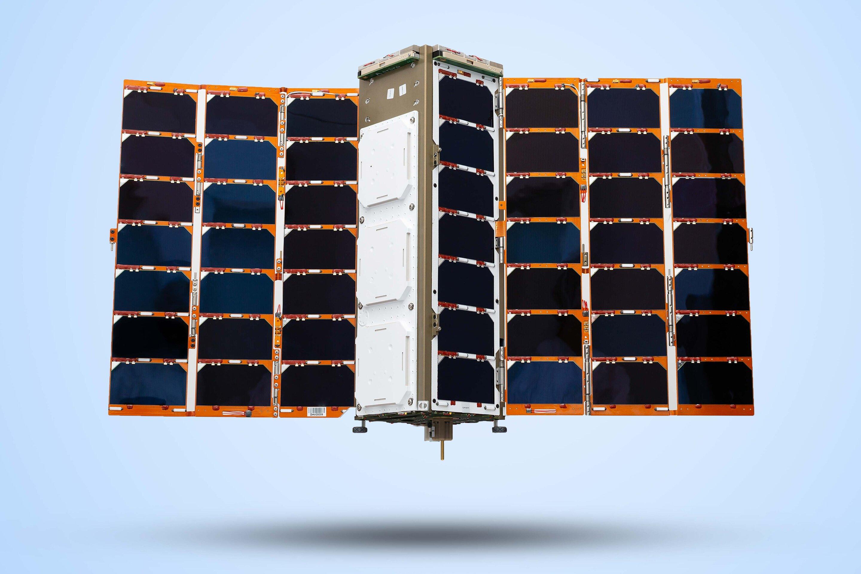 Machine-learning nanosats to inform global trade