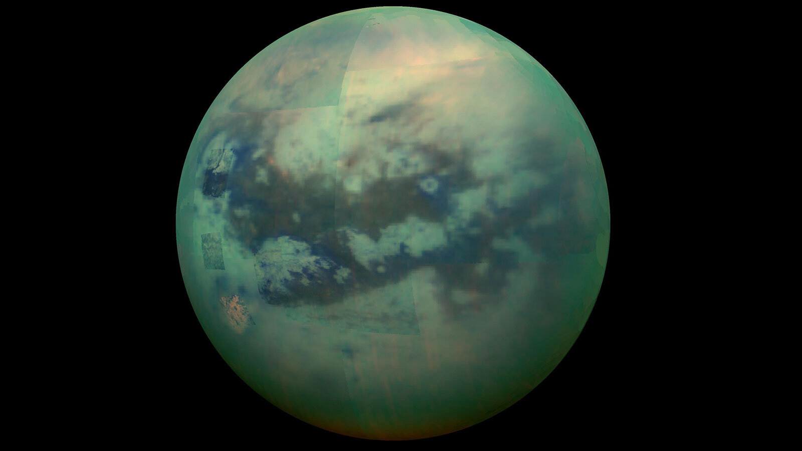 Impact craters reveal details of Titan's dynamic surface weathering