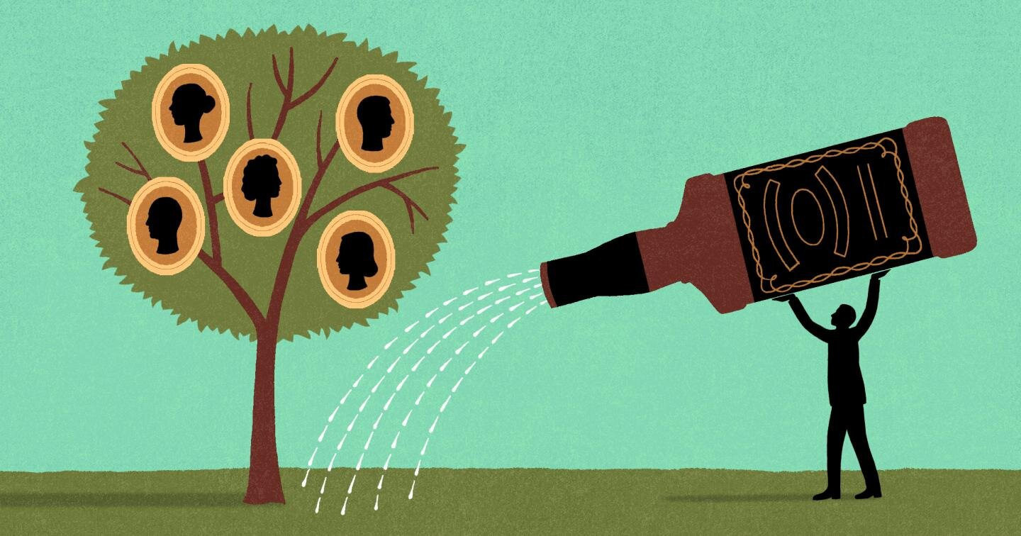 Alcoholism in the family affects how your brain switches between active and resting states