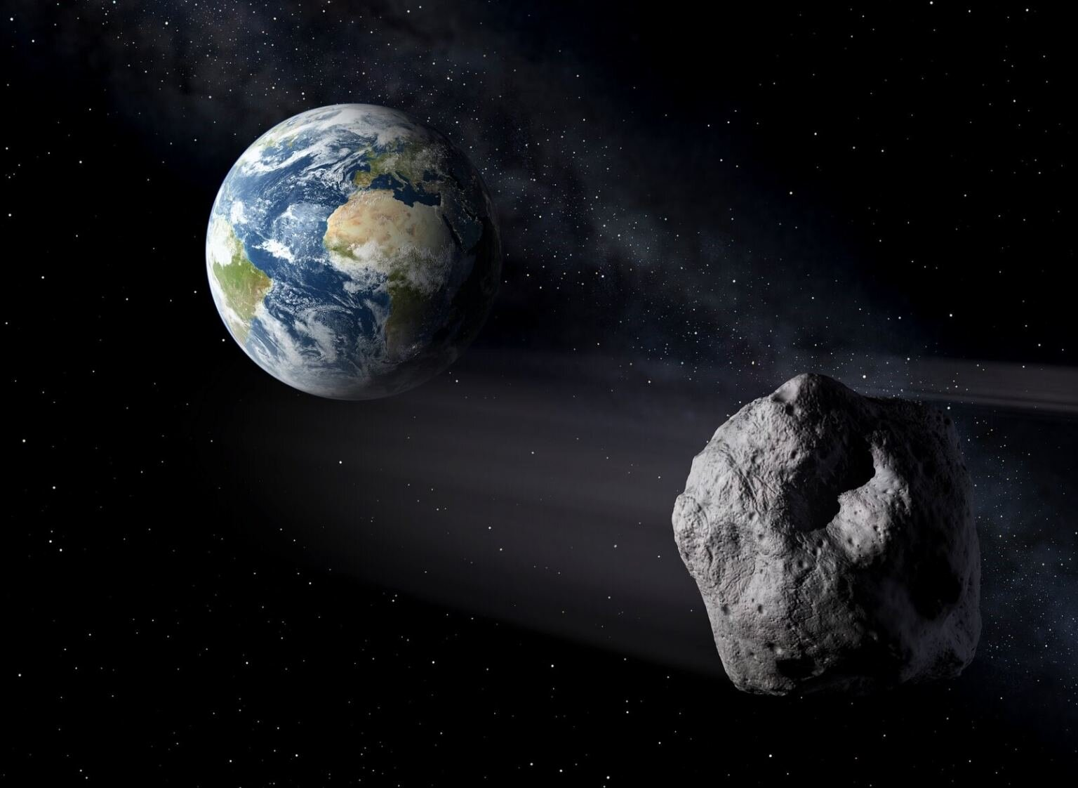 Asteroid 2020 VT4 just skimmed by Earth