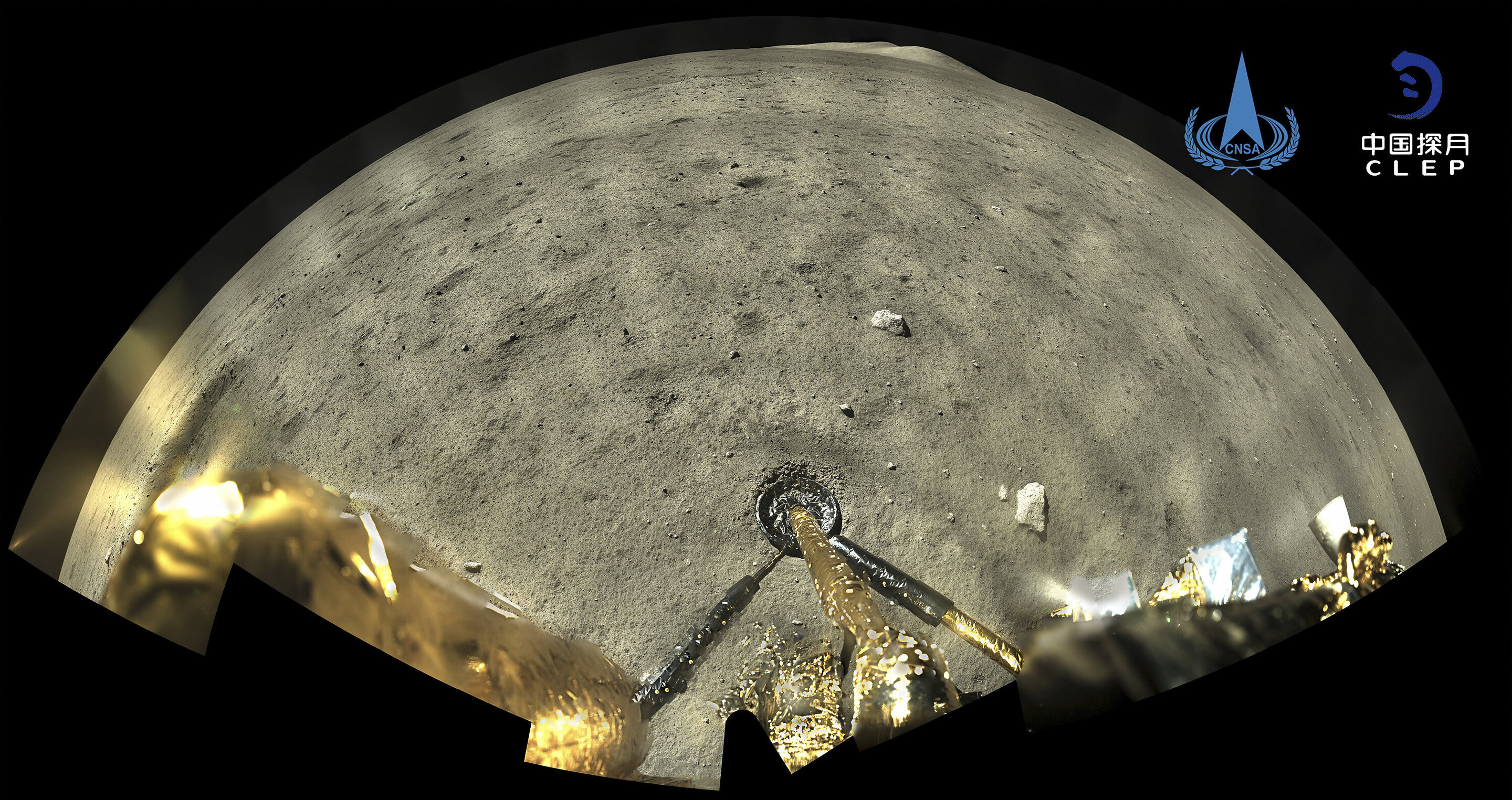 Moon probe preparing to return rock samples to Earth