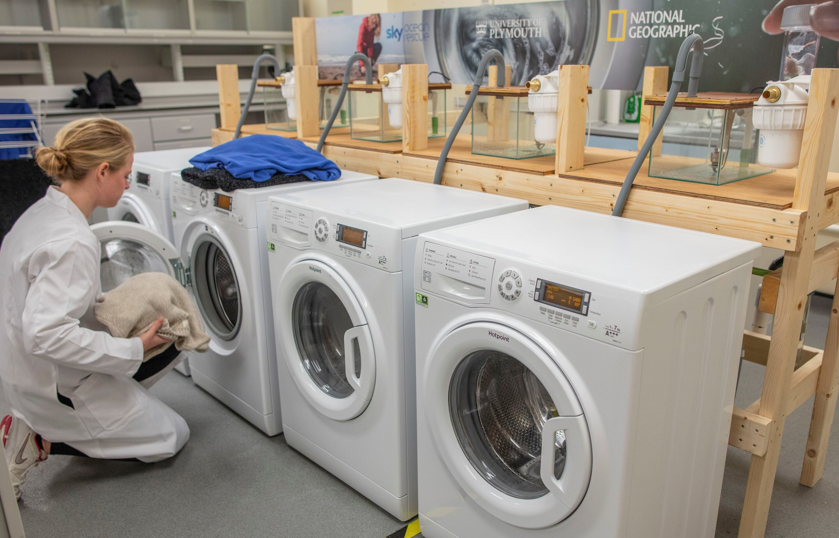 Devices can reduce fibers produced in laundry cycle by up to 80%