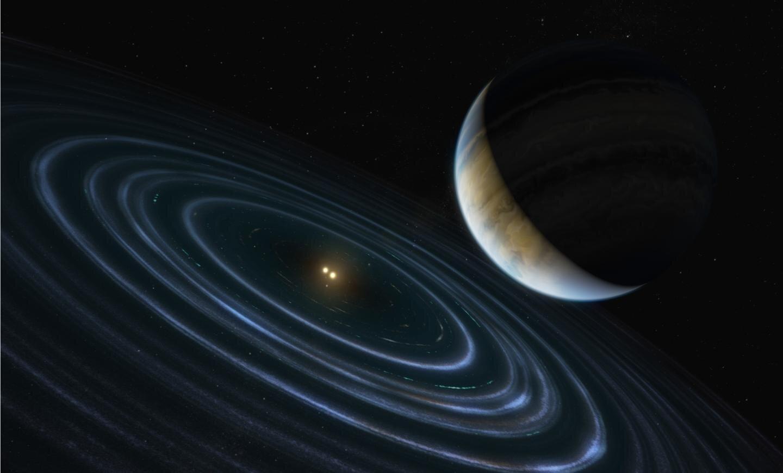 Hubble pins down weird exoplanet with far-flung orbit