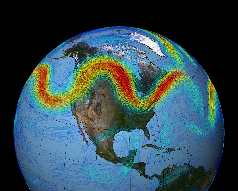 Jet stream not getting 'wavier' despite Arctic warming