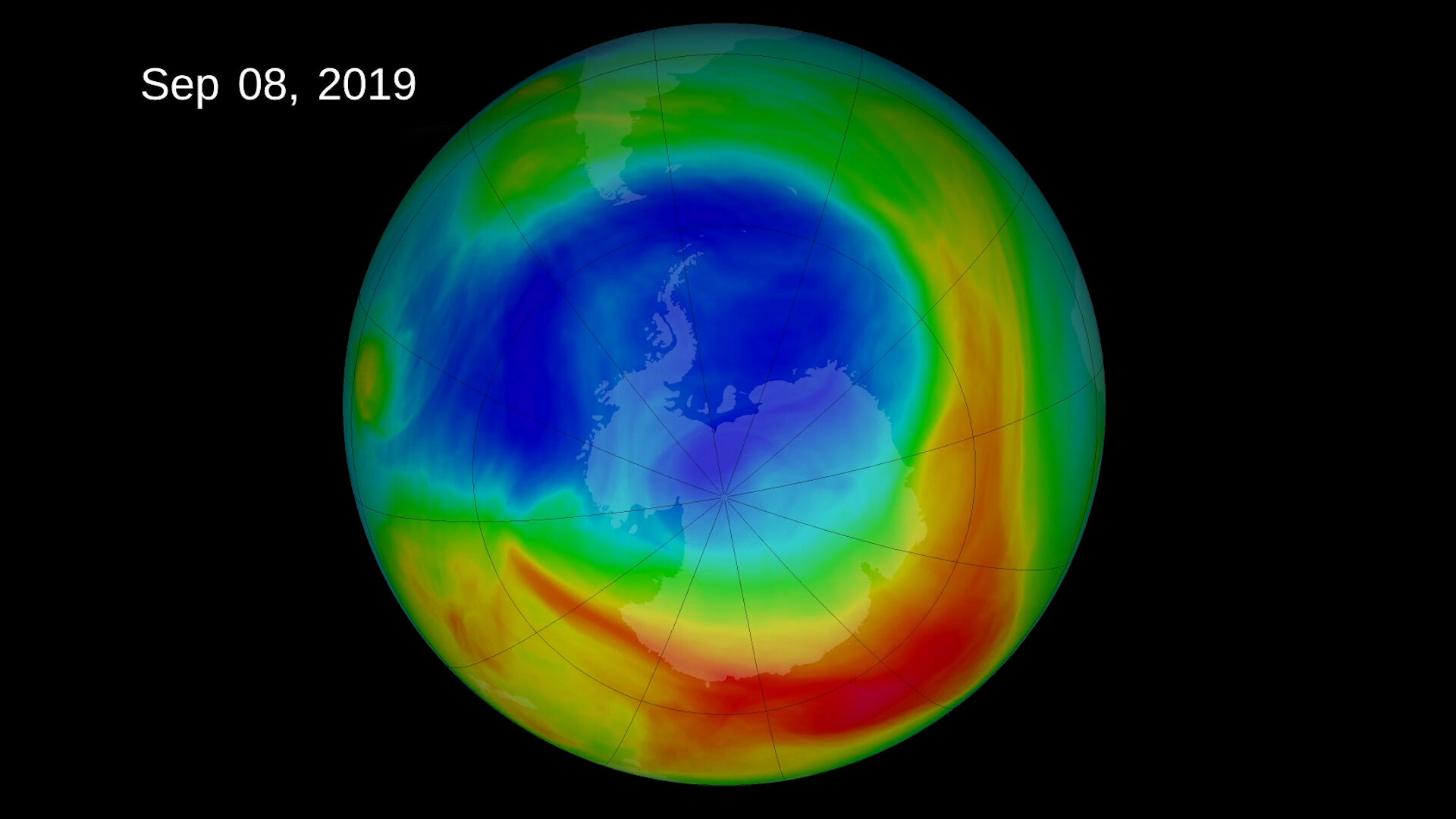 Ozone pollution has increased in Antarctica