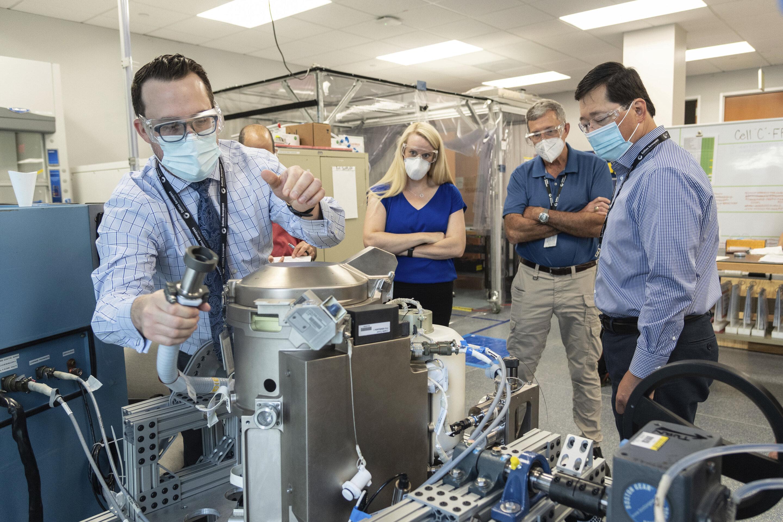NASA tests new M titanium space toilet