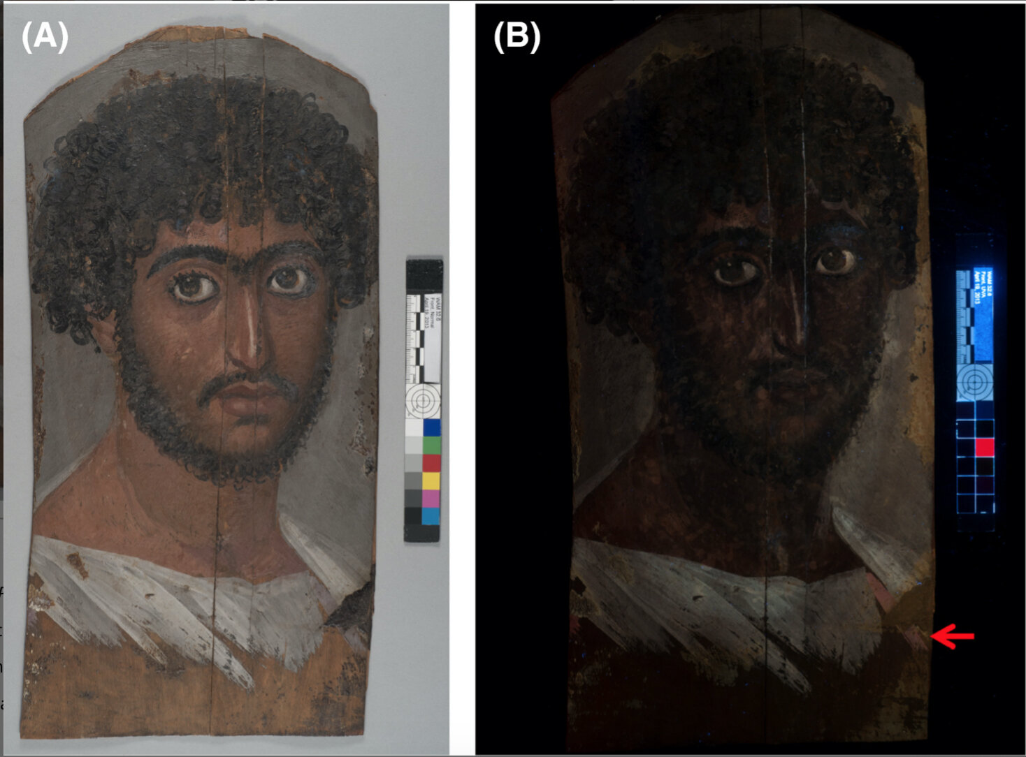 Science reveals secrets of a mummy's portrait