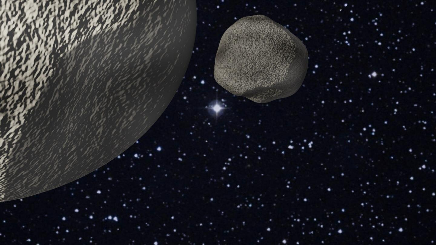 Study describes discovery of close binary trans-Neptunian object