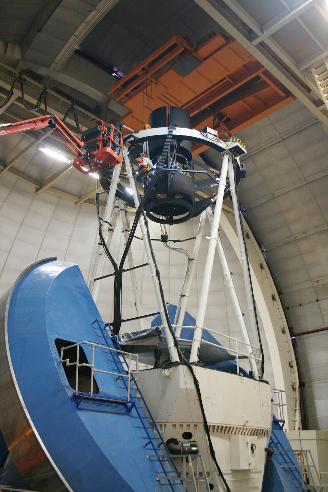 Telescope instrument is poised to begin its search for answers about dark energy