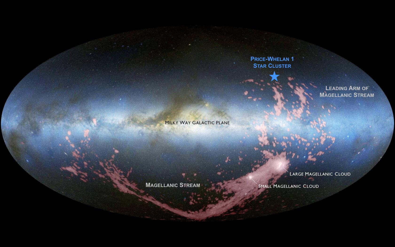 Budoucí srážka se sousedními galaxiemi už nyní vytváří nové hvězdy v Mléčné dráze