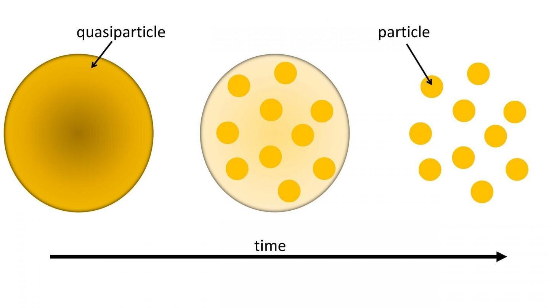 To kill a quasiparticle: A quantum whodunit