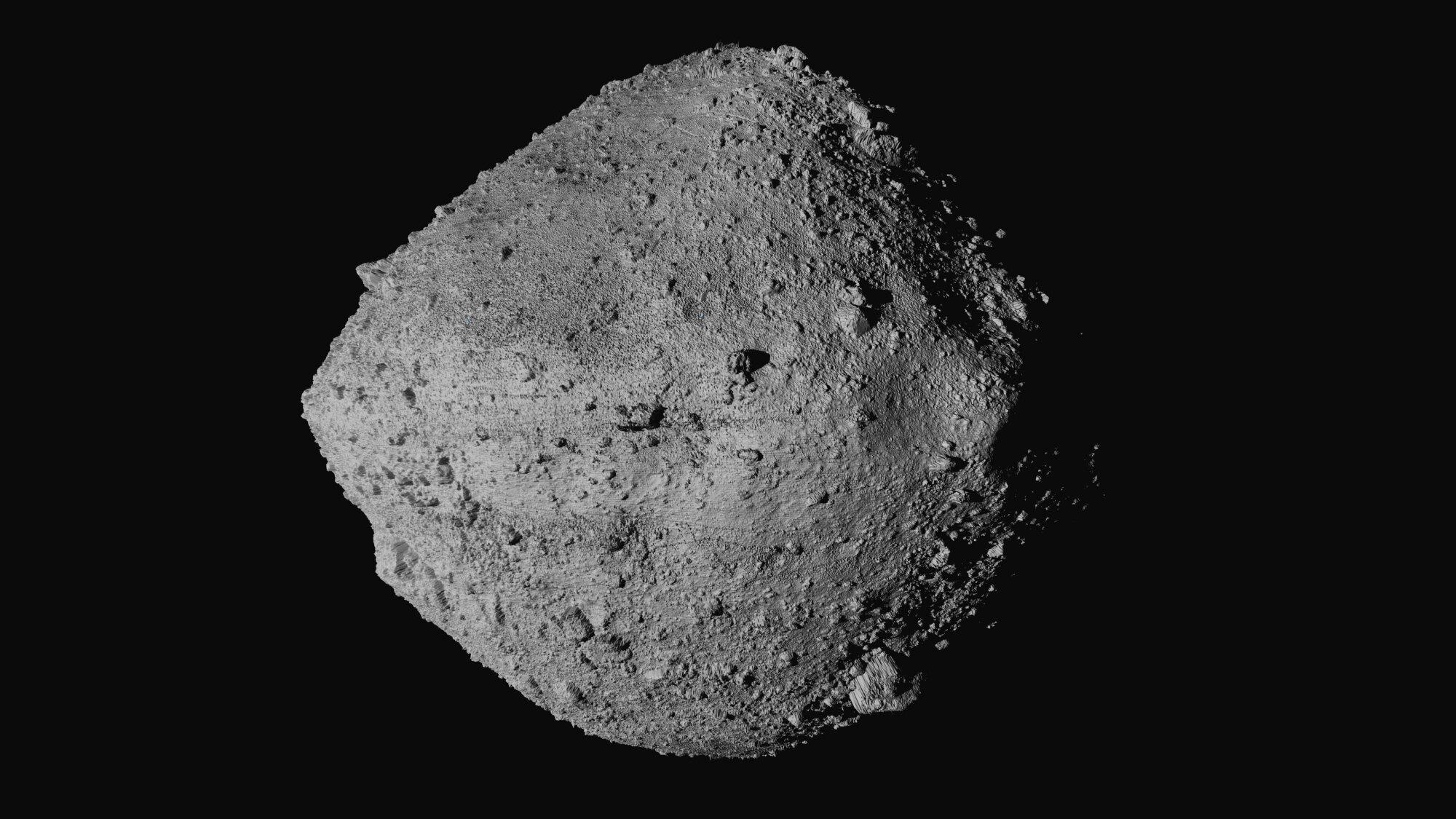 US spacecraft sampling asteroid for return