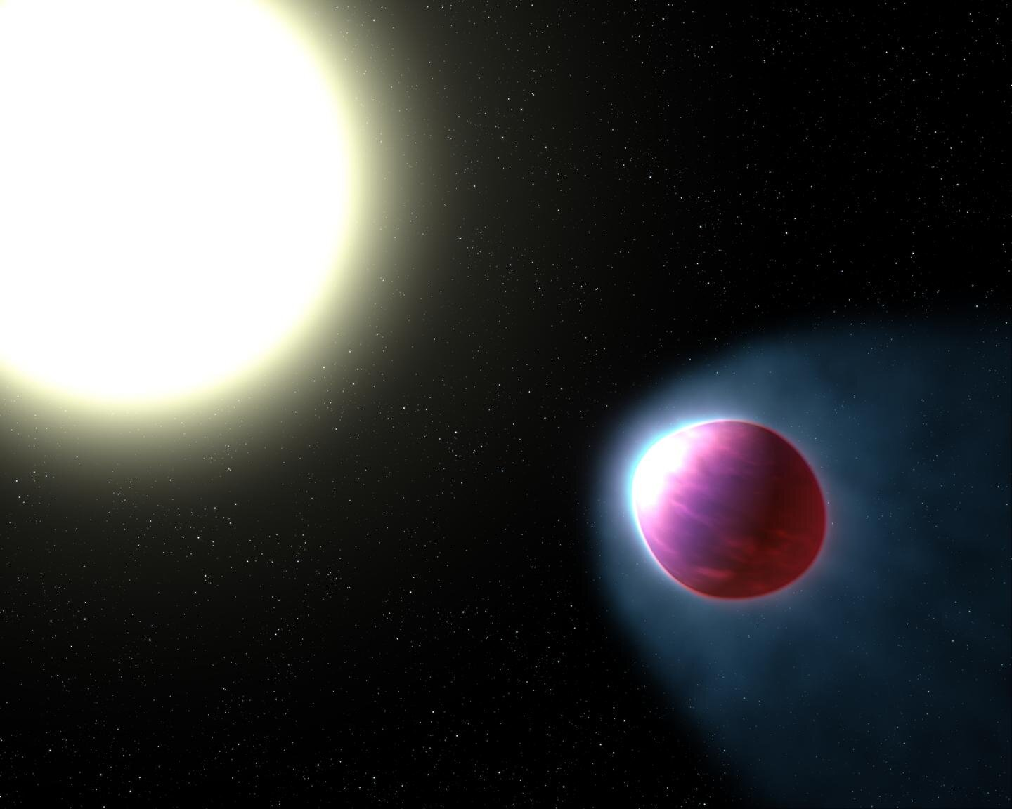 Finding vaporized metal in the air of an exoplanet