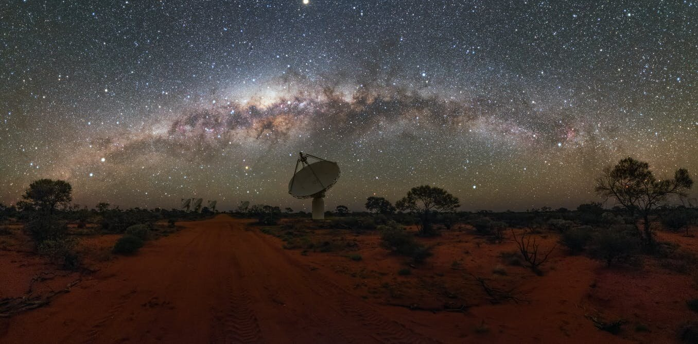 Why radio astronomers need things quiet in the middle of a Western Australia desert