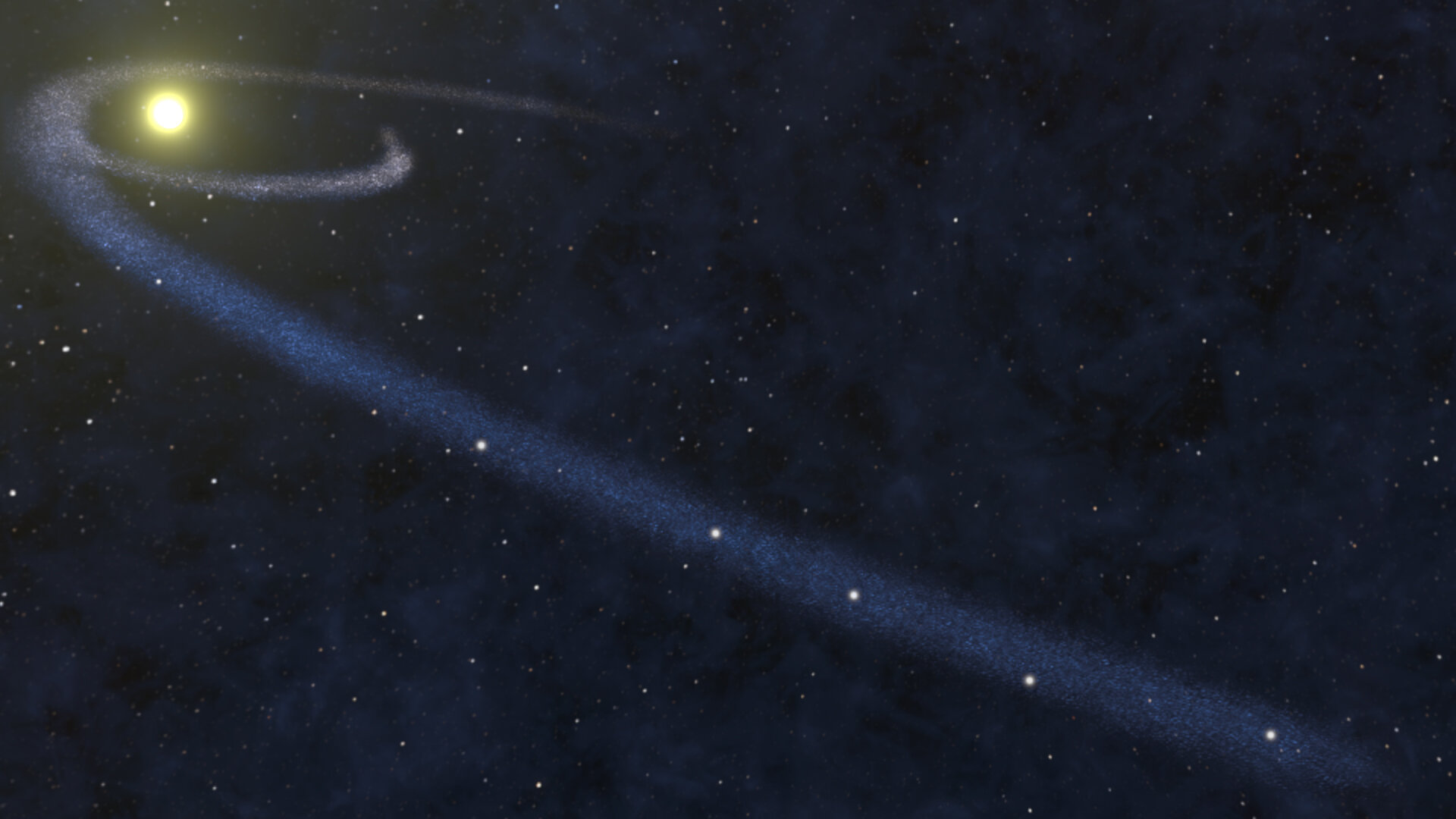 Student astronomer finds missing galactic matter