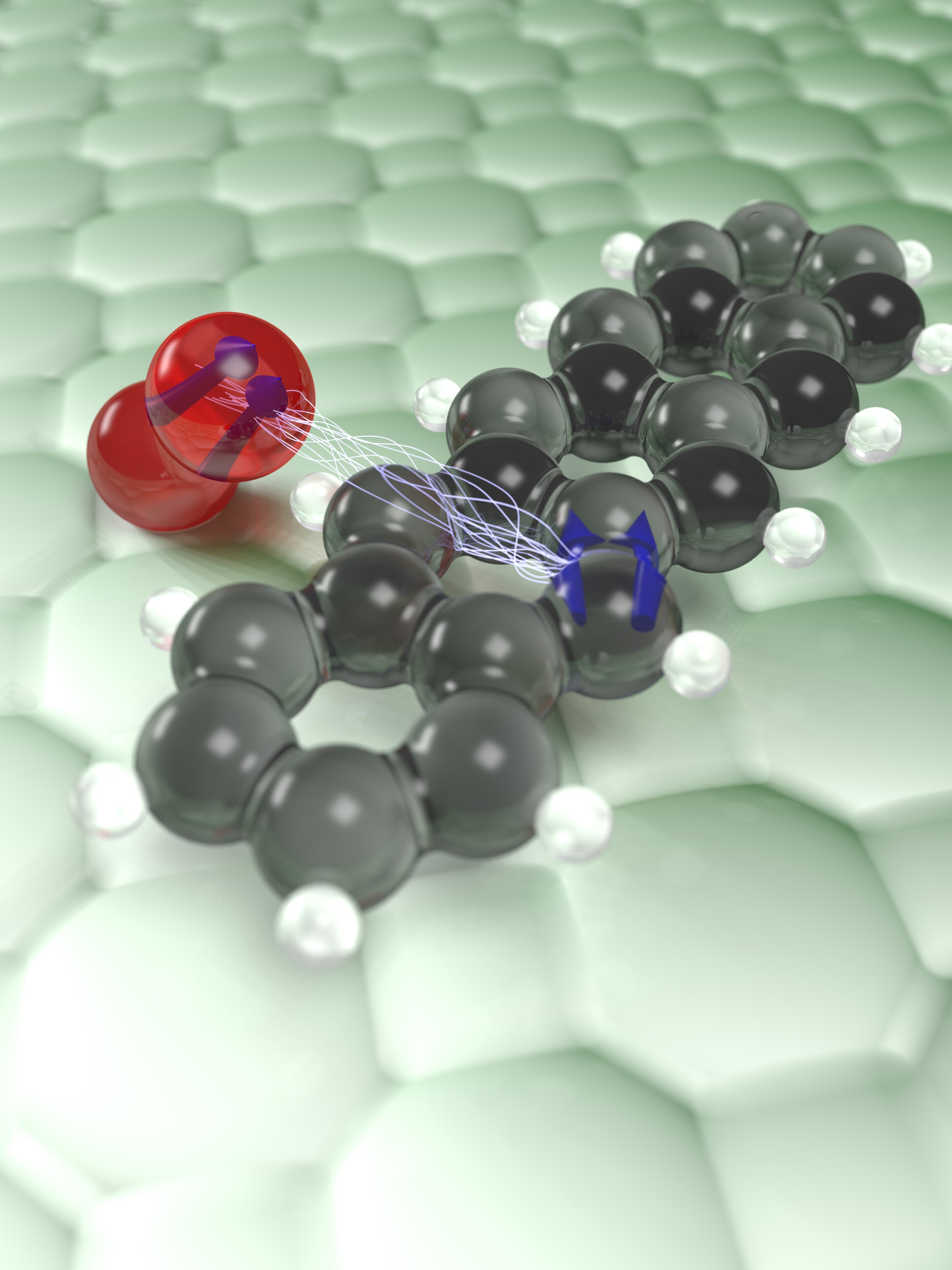 A novel microscope reveals the miracle of molecular oxygen-