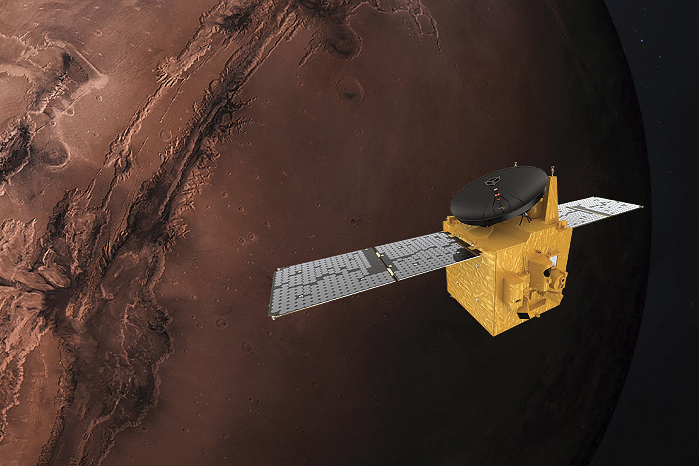 Arab spacecraft closes in on Mars on historic flight
