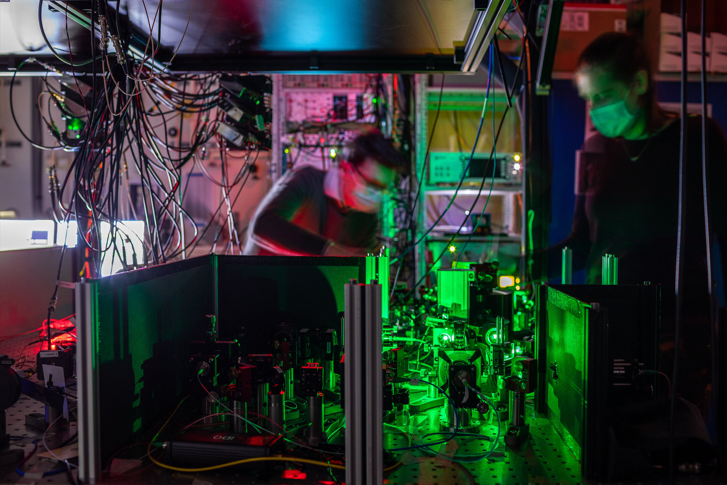 Researchers establish the first entanglement-based quantum network