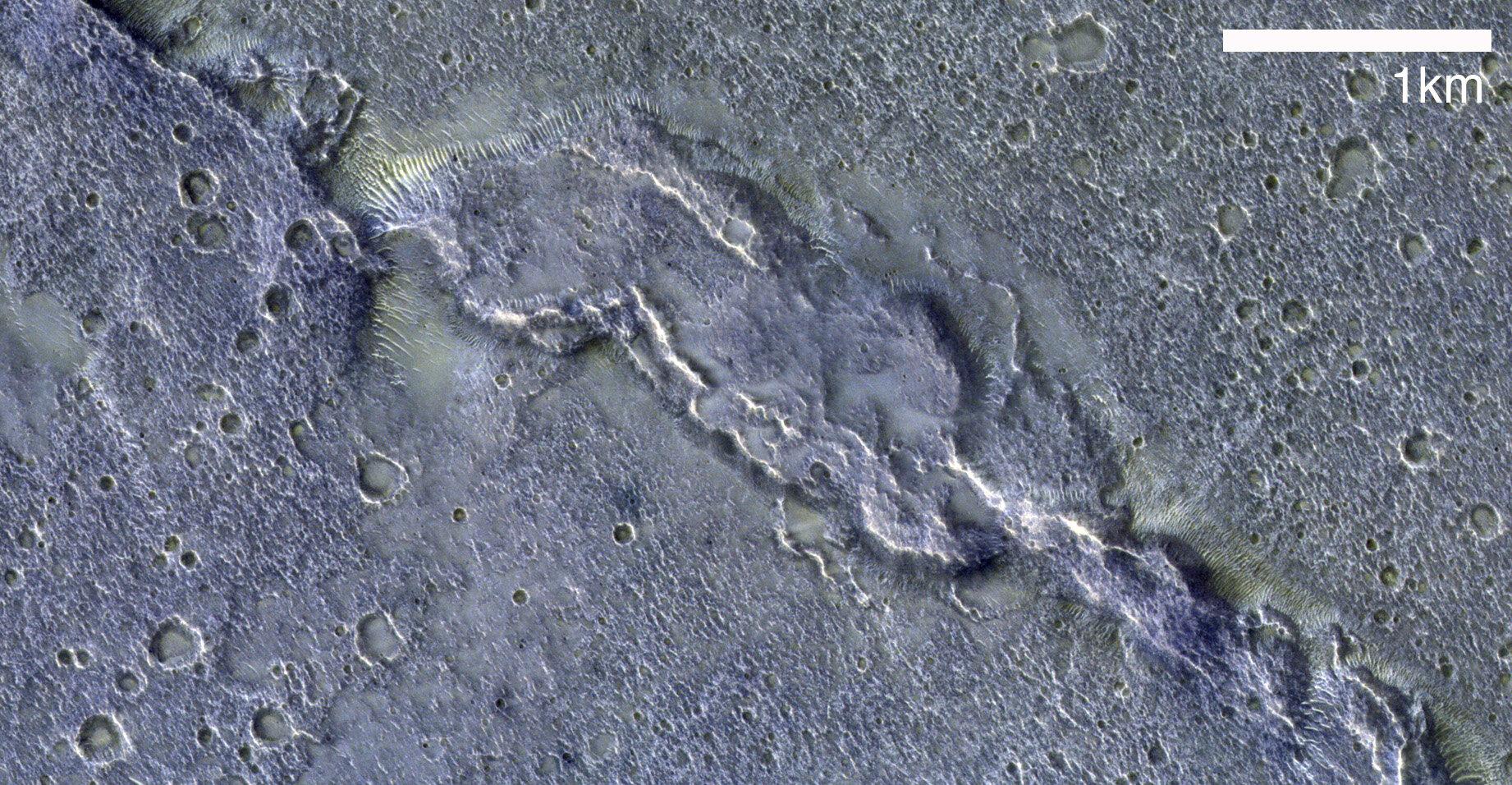 ExoMars orbiter's 20,000th image