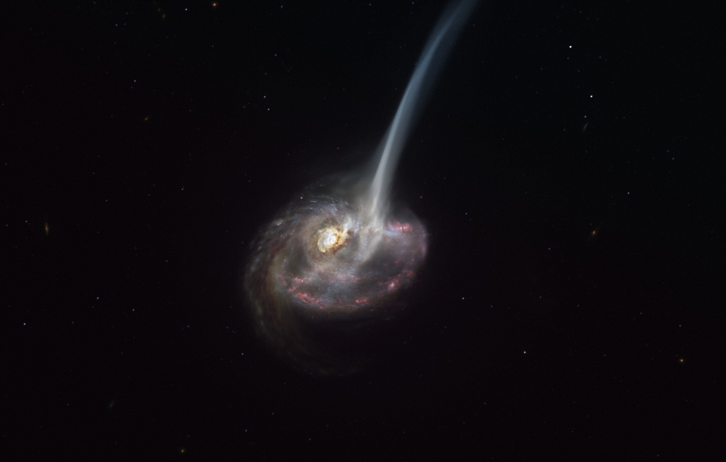 Galaxy mergers could limit star formation