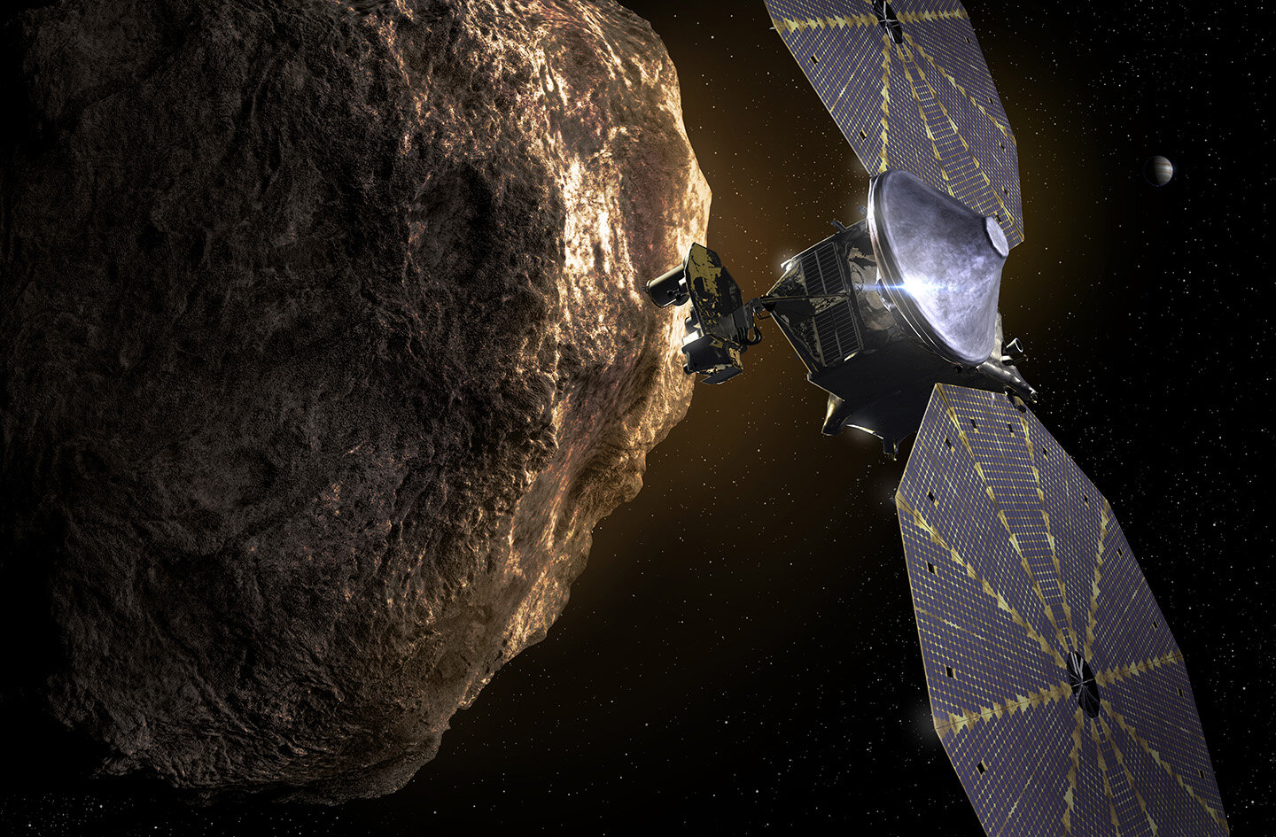 How the Sun affects asteroids in our neighborhood
