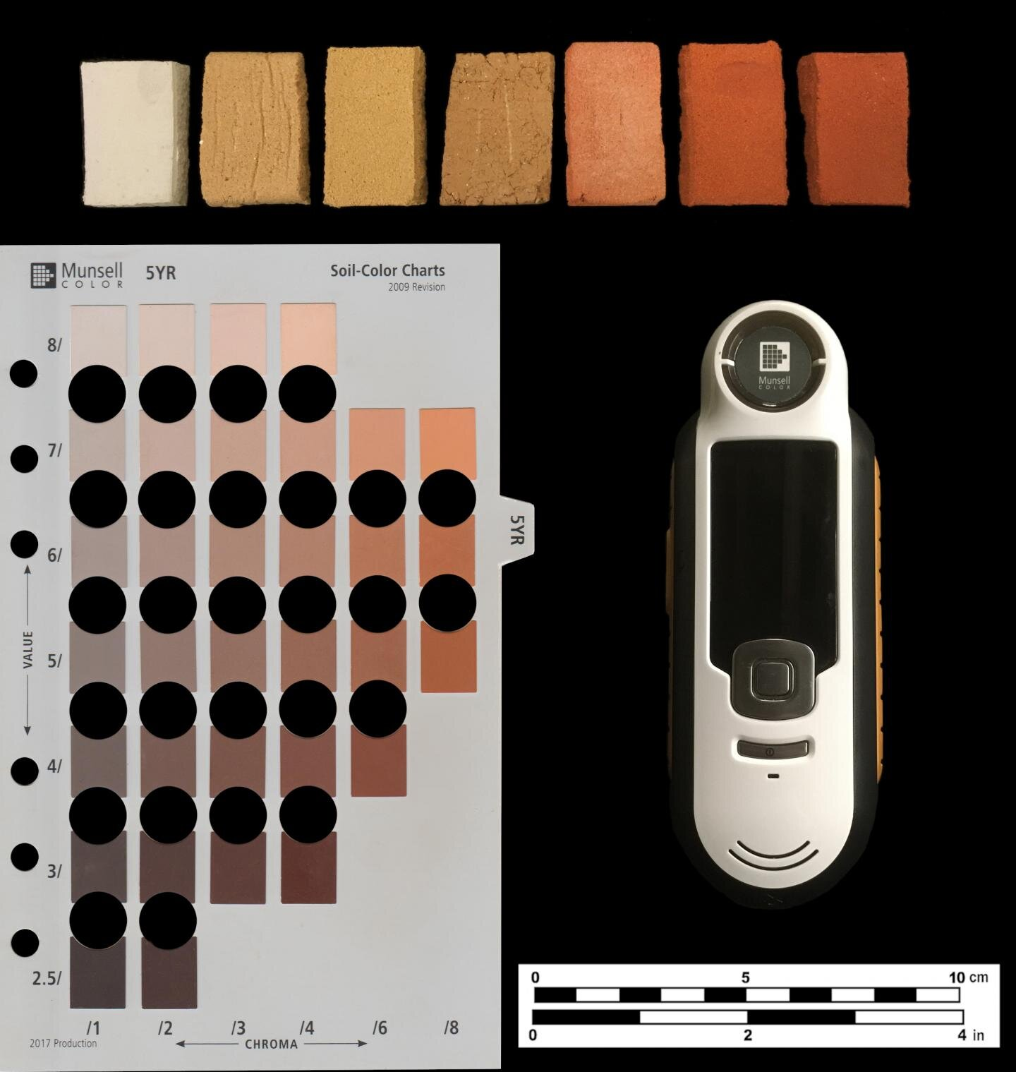 Human eye beats machine in archaeological color identification test