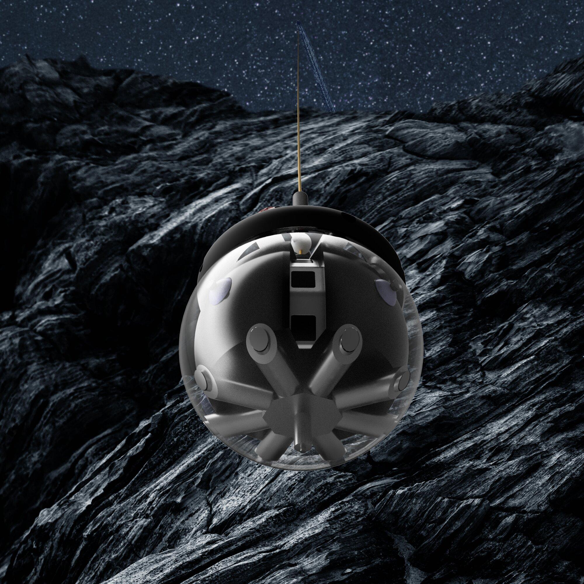 Lunar cave explorer