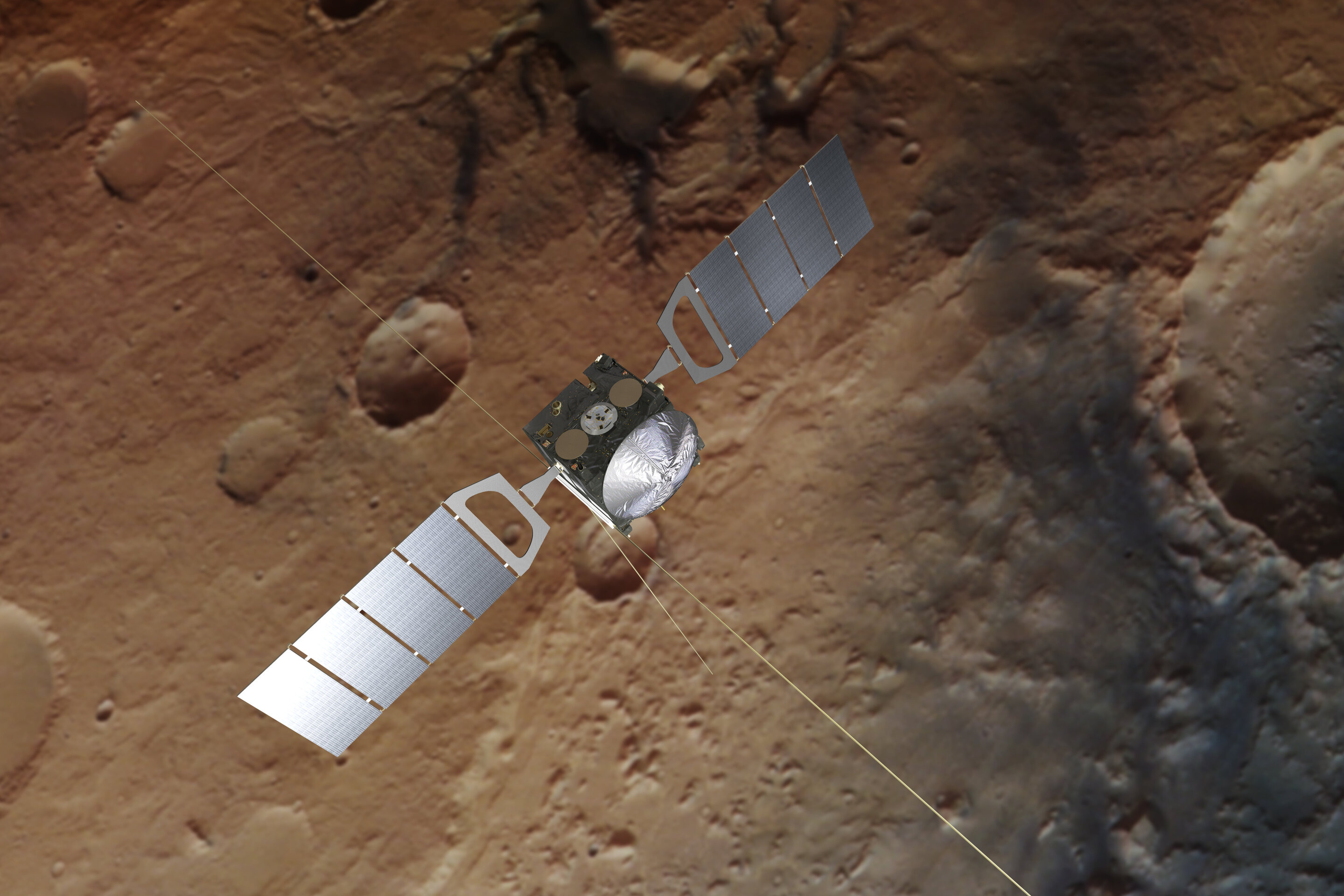 Mars water loss shaped by seasons and storms
