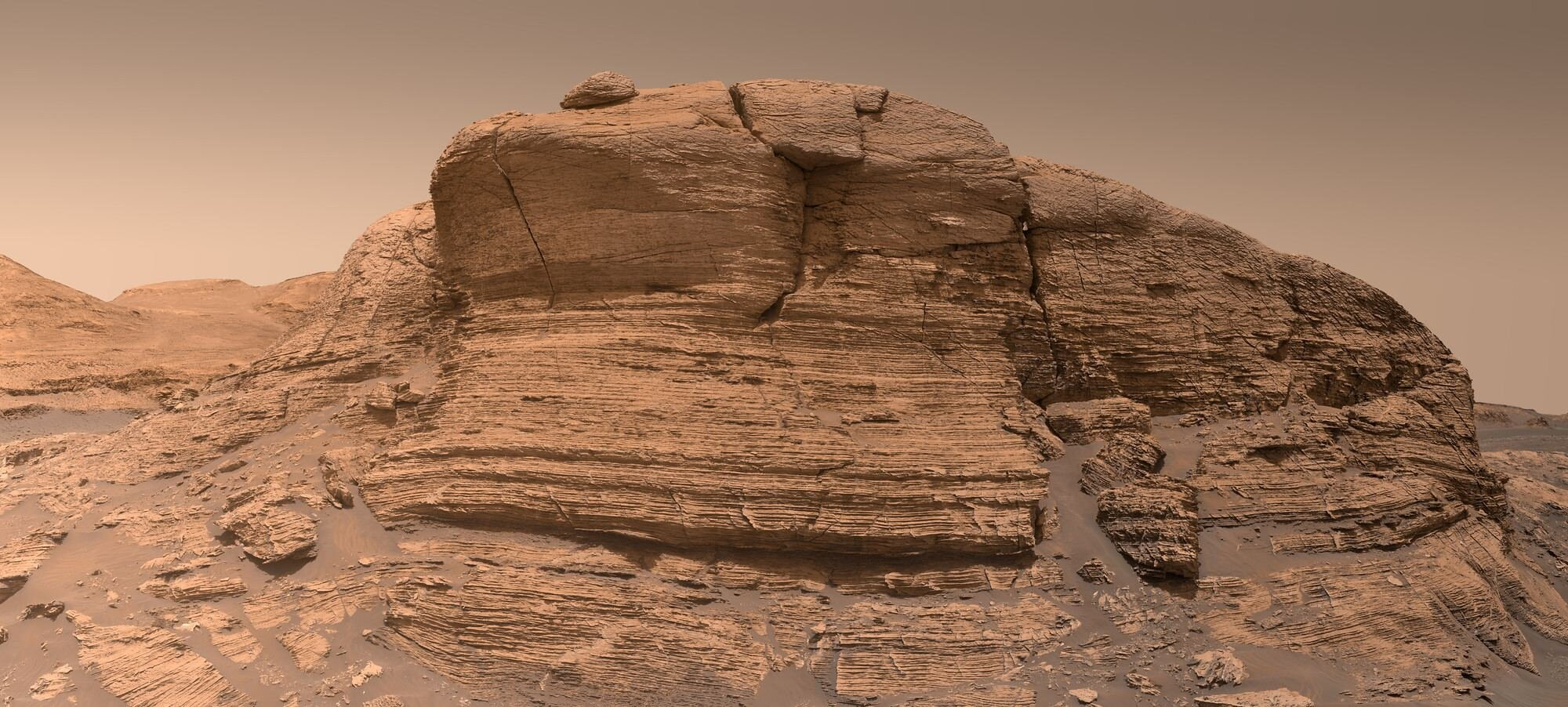 Image: Mont Mercou on Mars