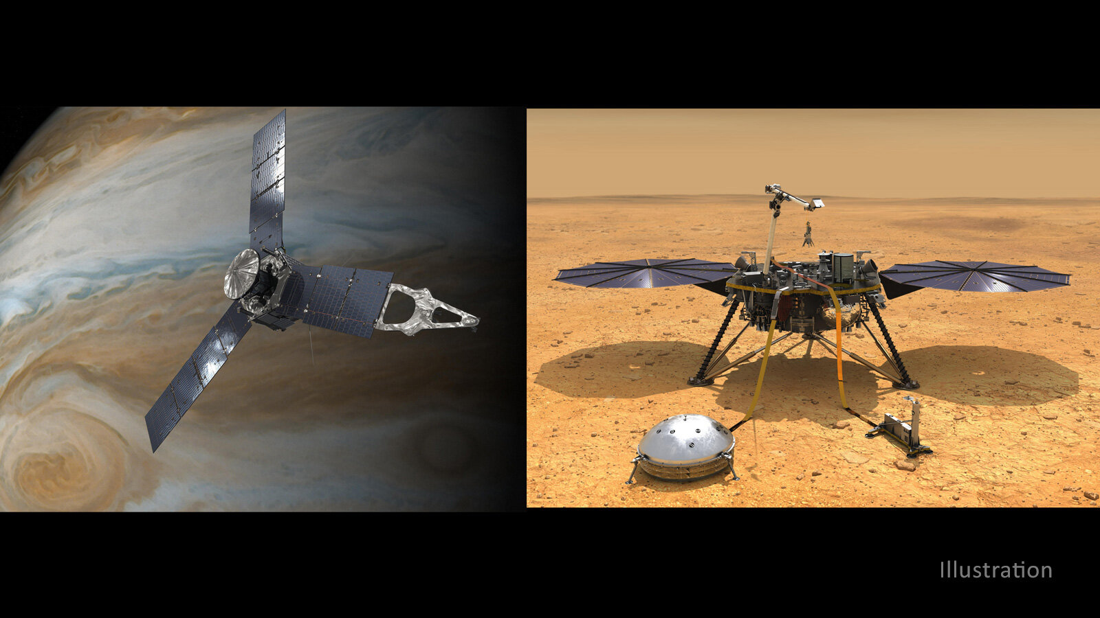NASA extends exploration for two planetary science missions