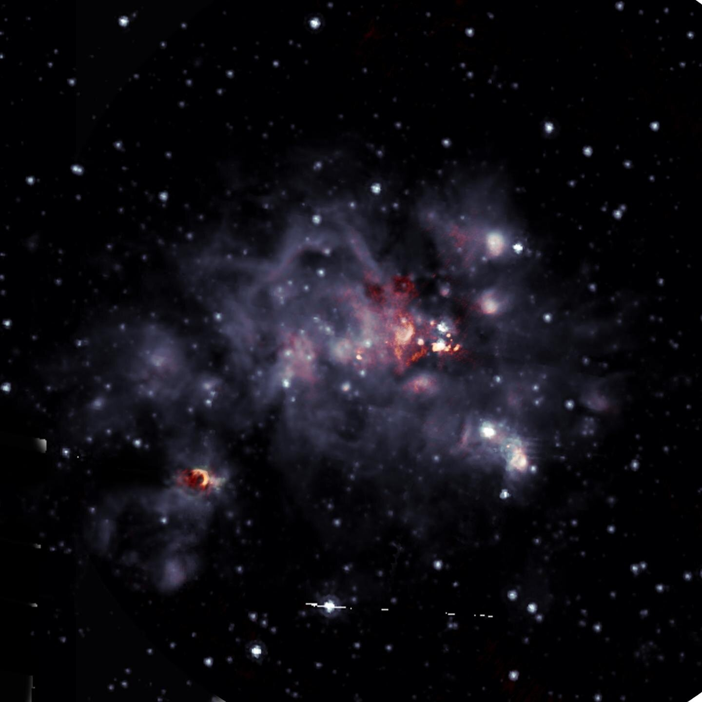 New look at a bright stellar nursery