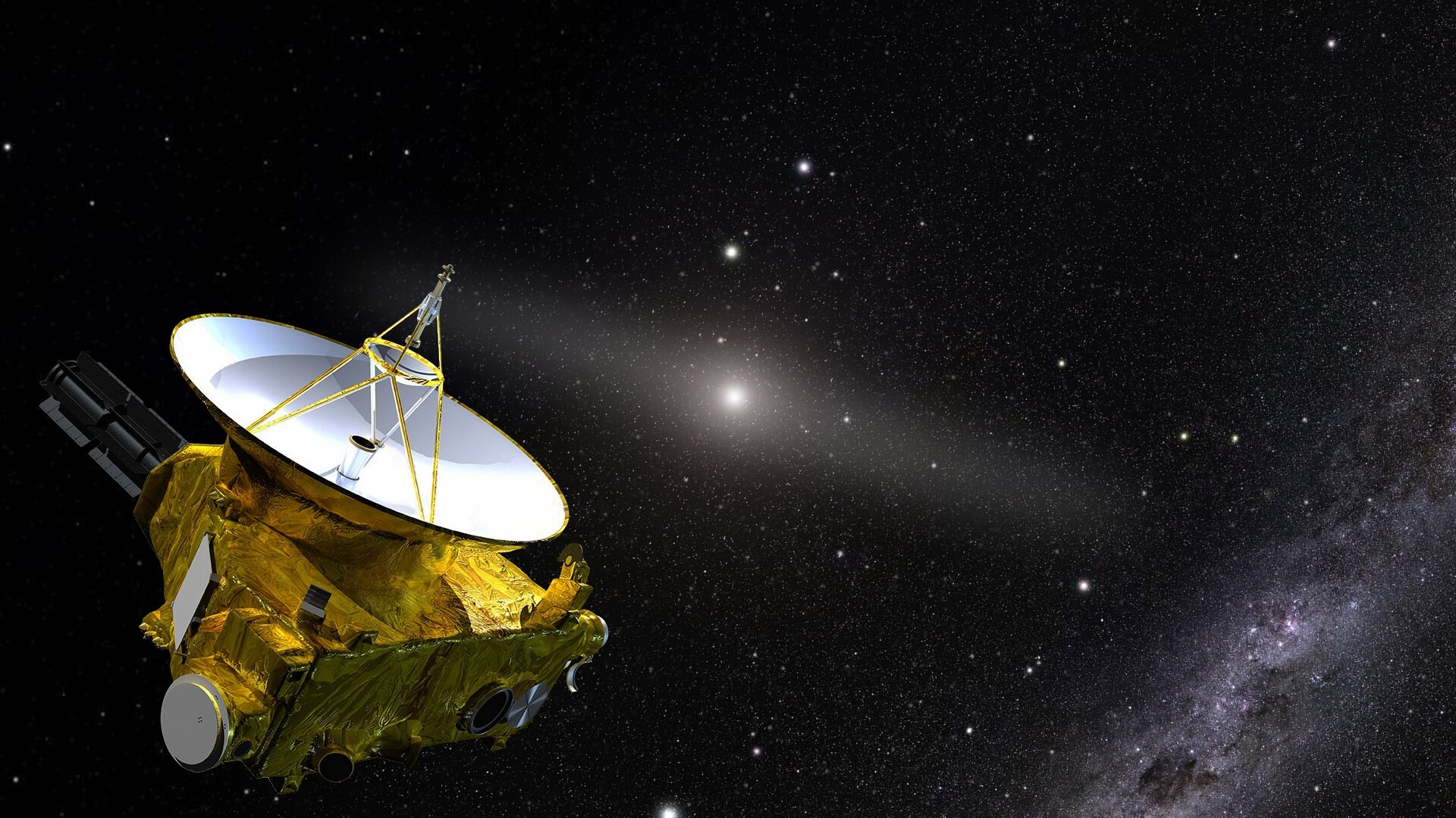 New Horizons spacecraft answers the question: How dark is space?