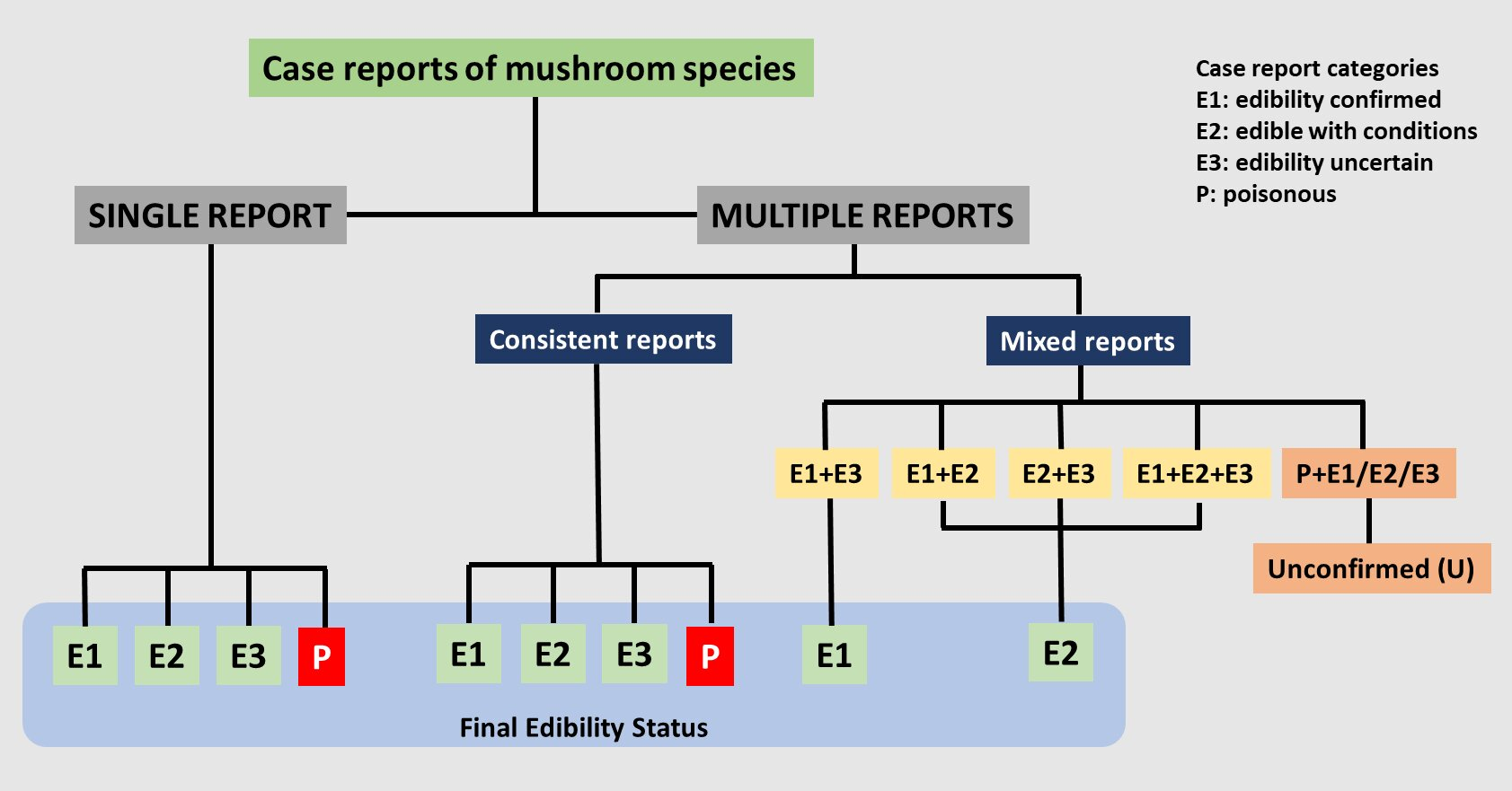 photo of New system for evidence-based mushroom classification image