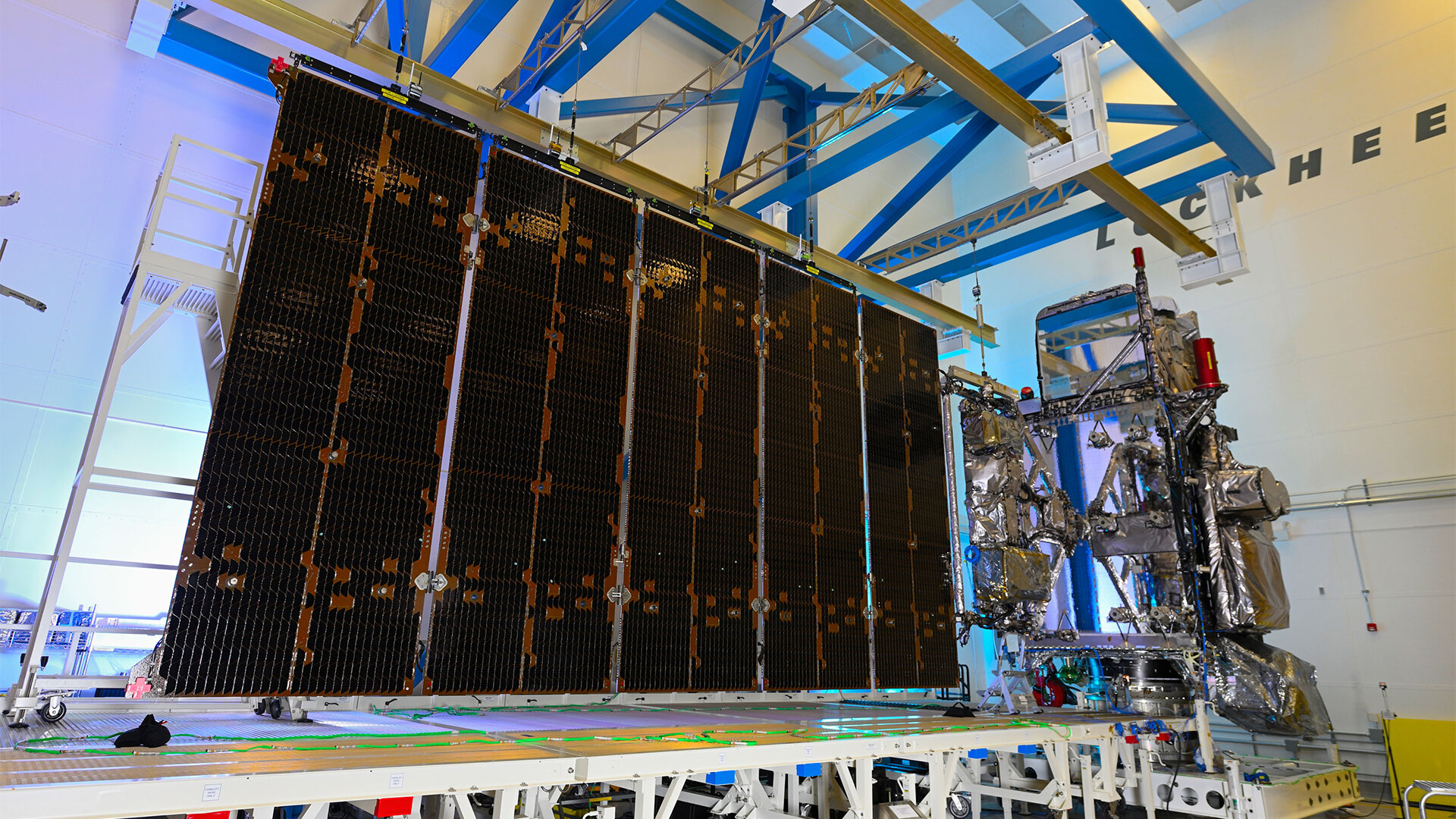 NOAA's GOES-T completes solar array deployment test