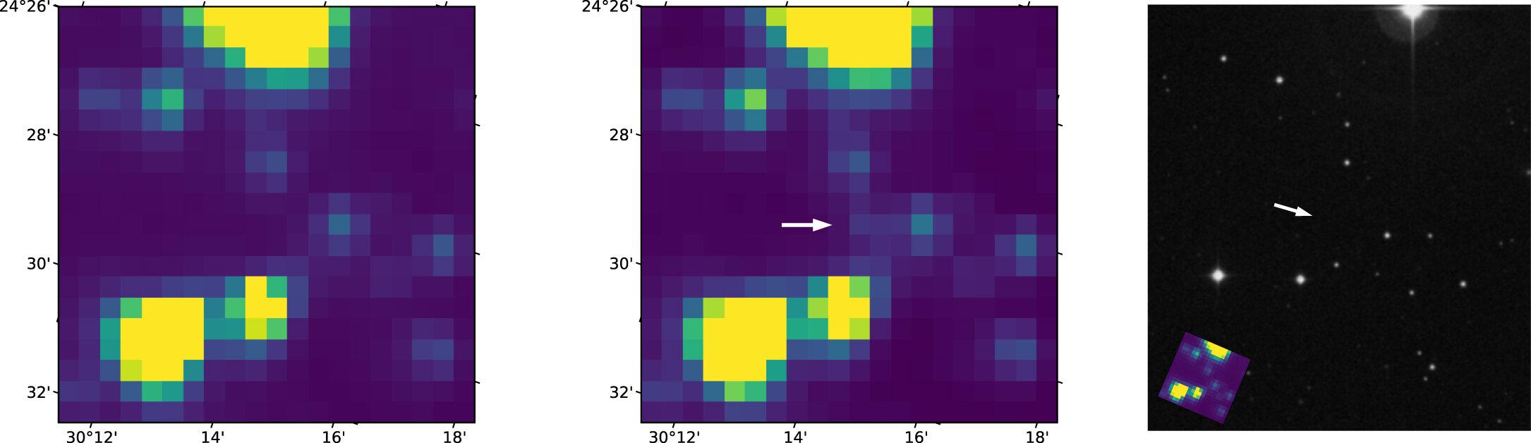 Exoplanet-hunter TESS telescope spots bright gamma-ray burst