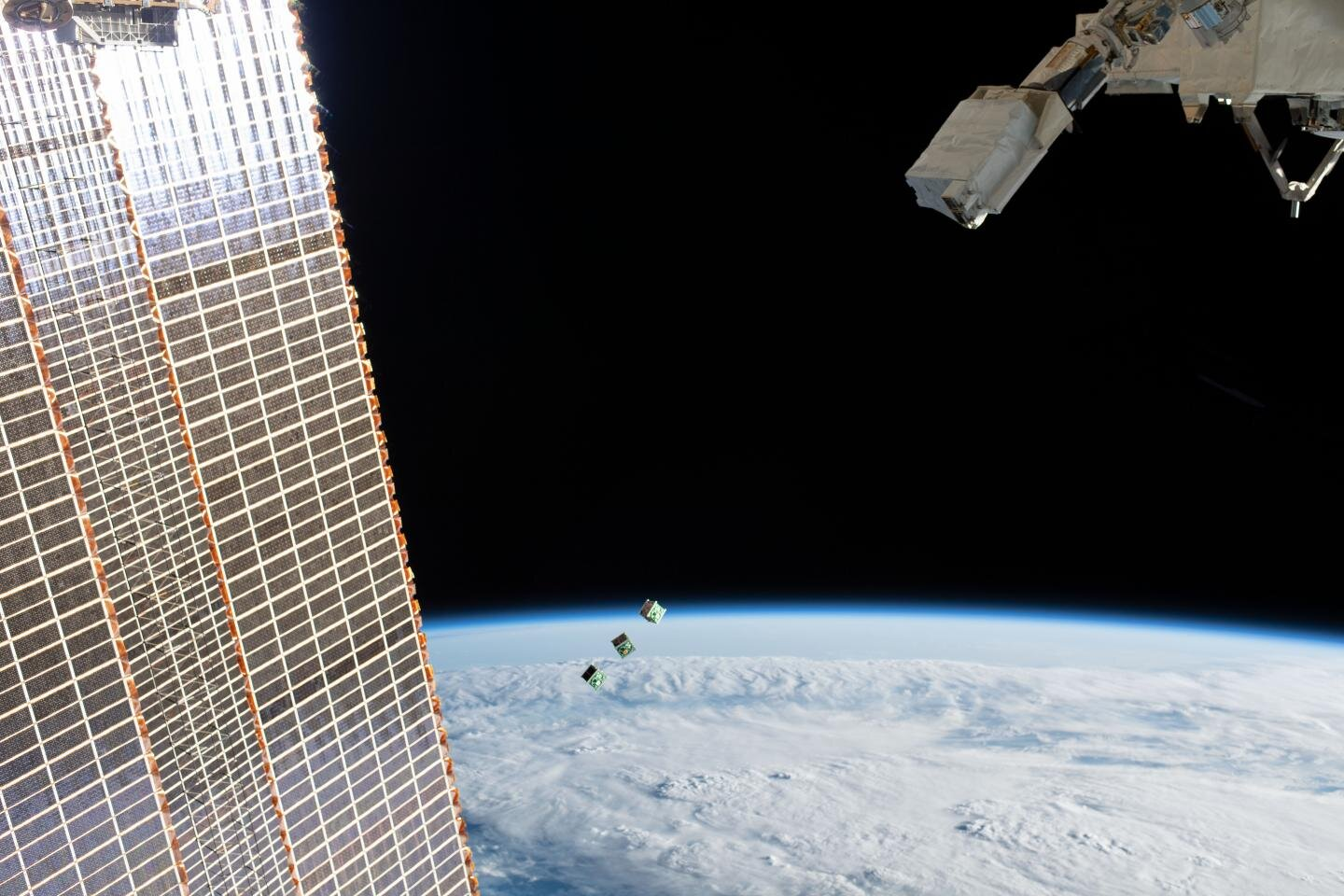Paraguay's first satellite deployed from the International Space Station