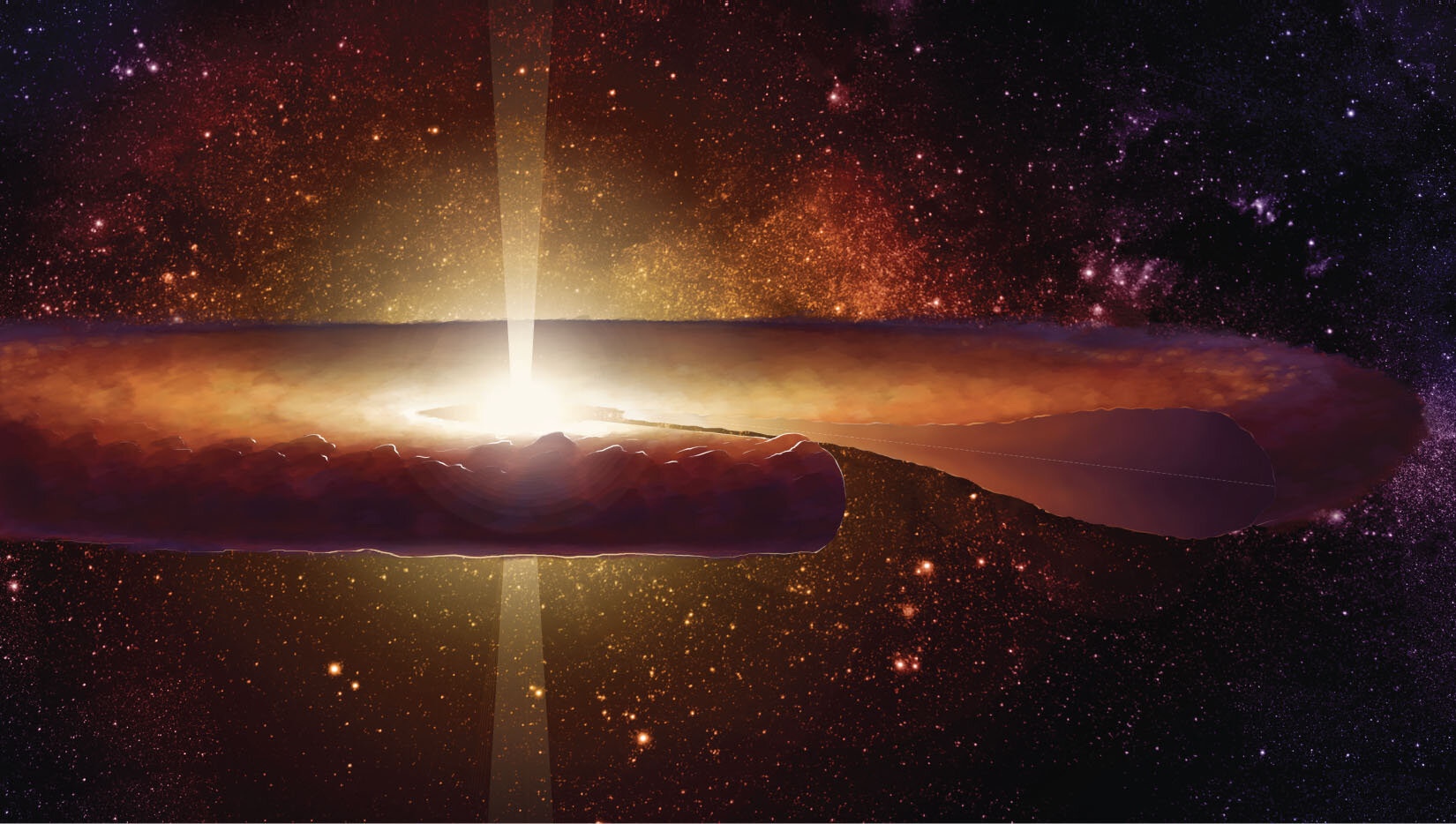 Researchers trace dust grain's journey through newborn solar system