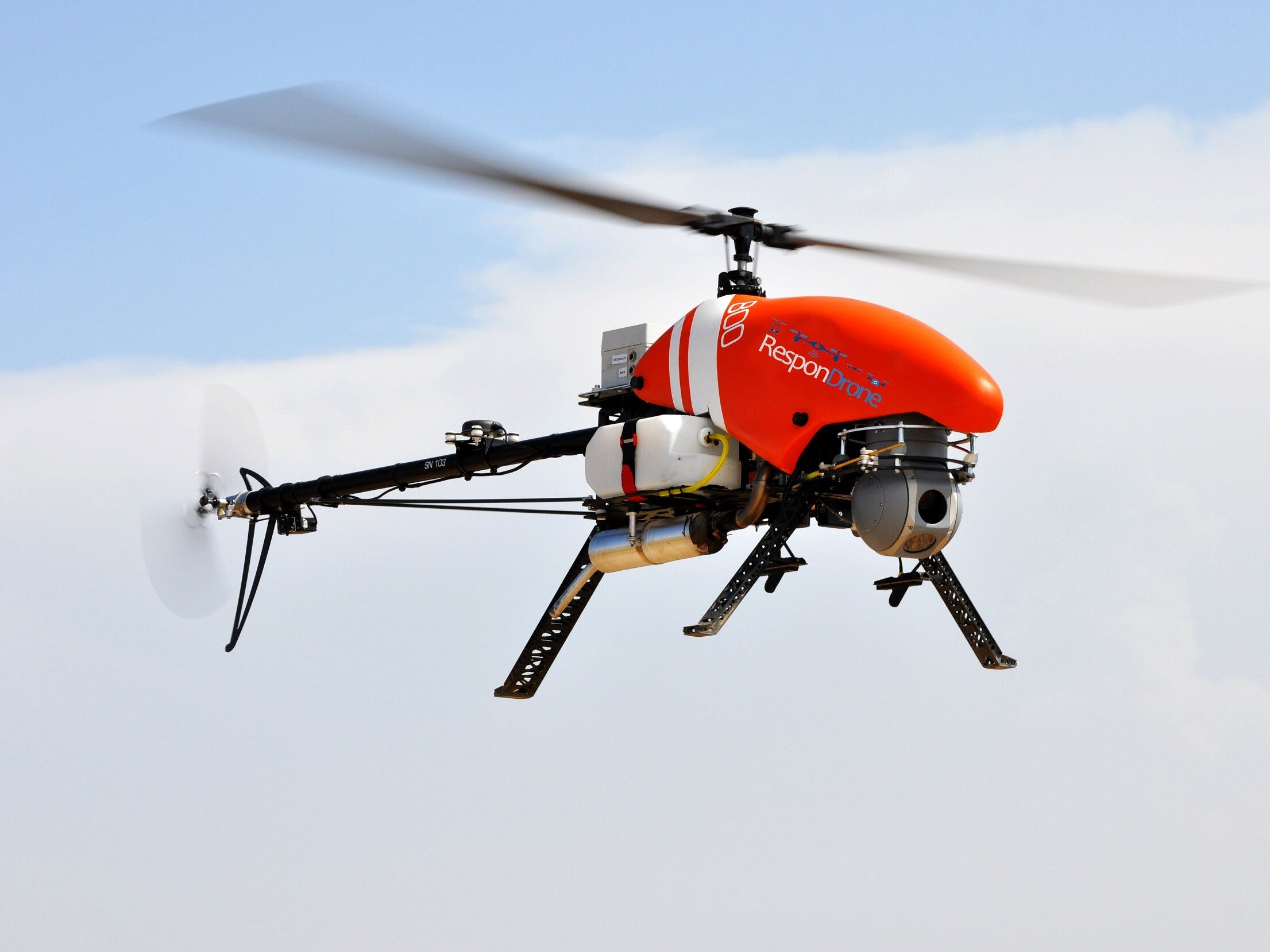 Drone with 3D mapping tech gives first responders near real-time data