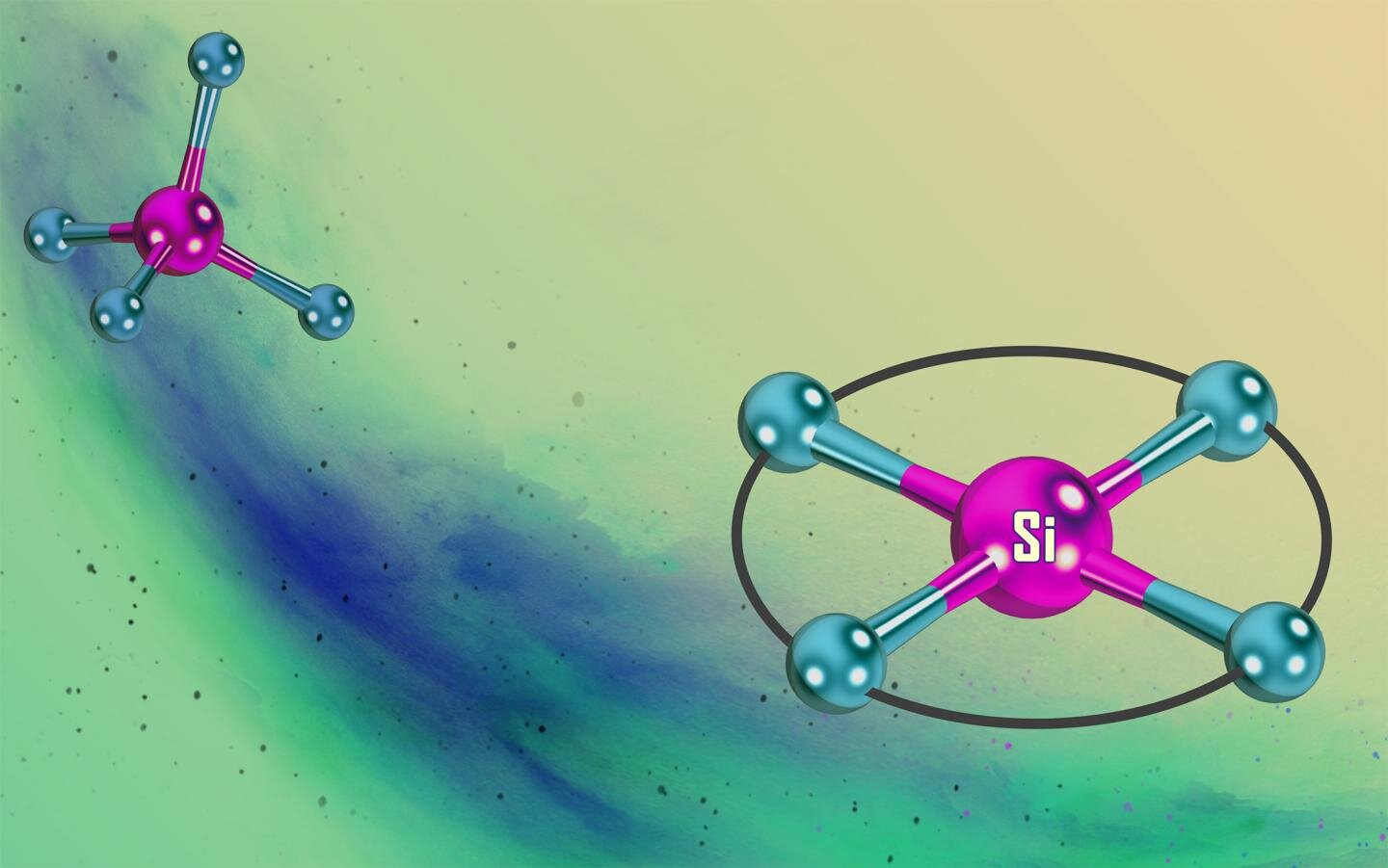 Silicon with a two-dimensional structure