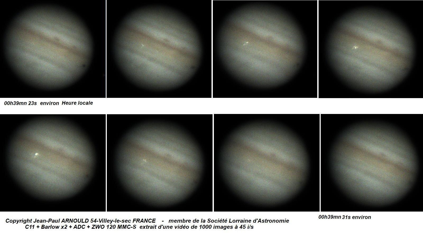Something big just hit Jupiter