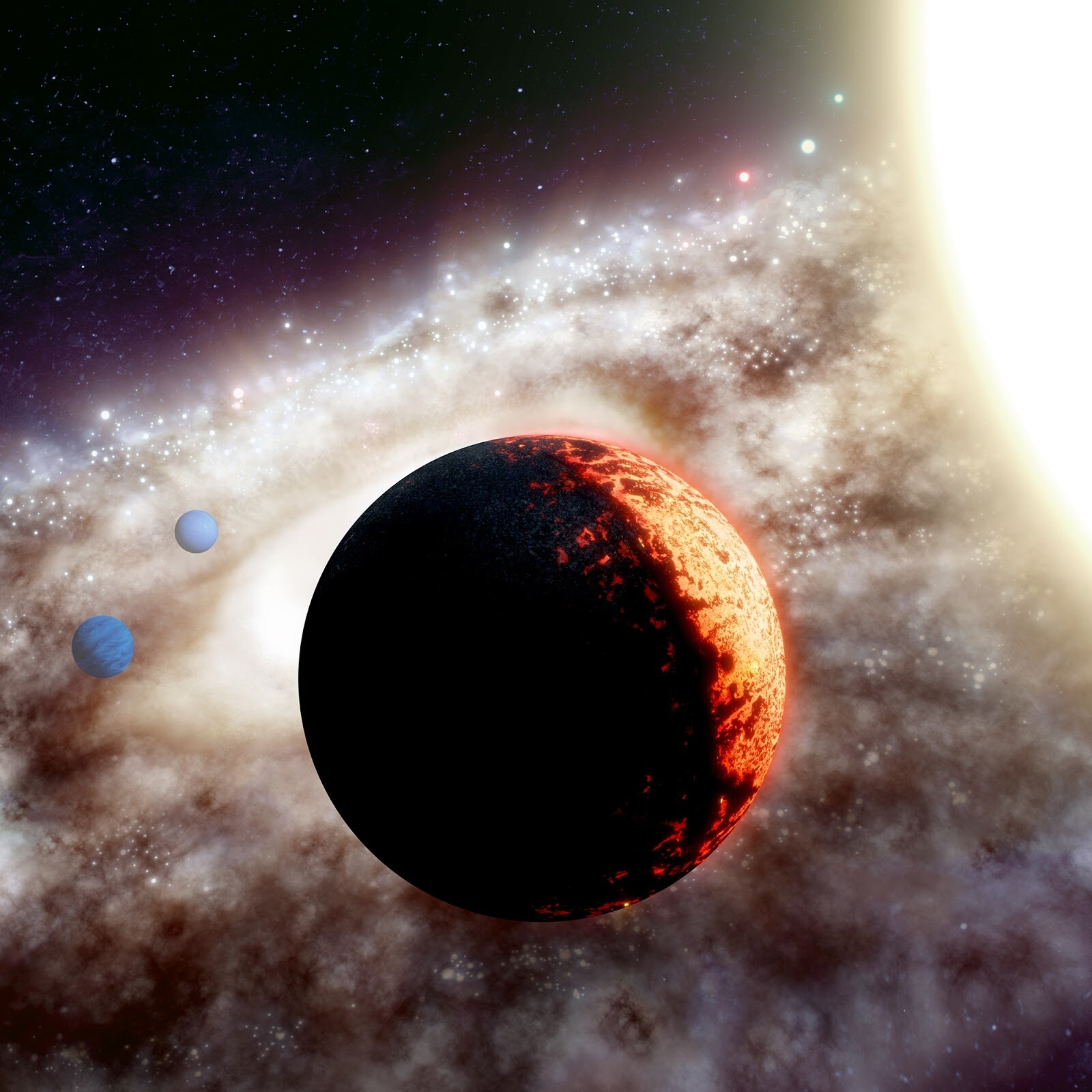 'Super Earth' discovered near one of our galaxy's oldest stars