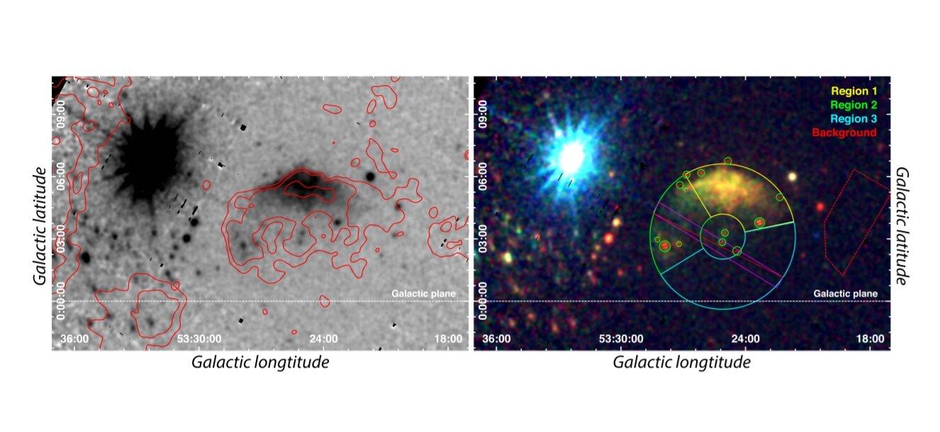 Supernova G53.41+0.03
