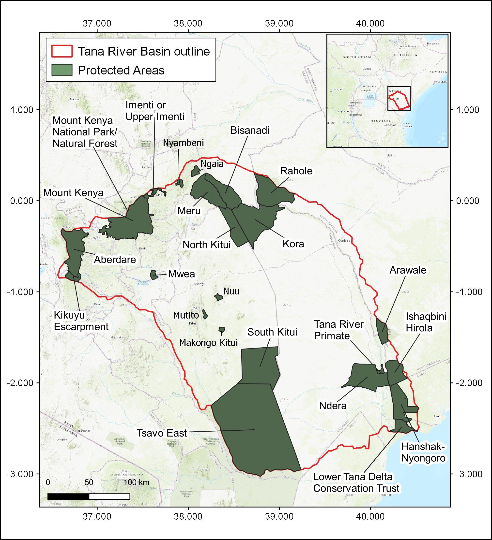 The impact of climate change on Kenya's Tana river basin