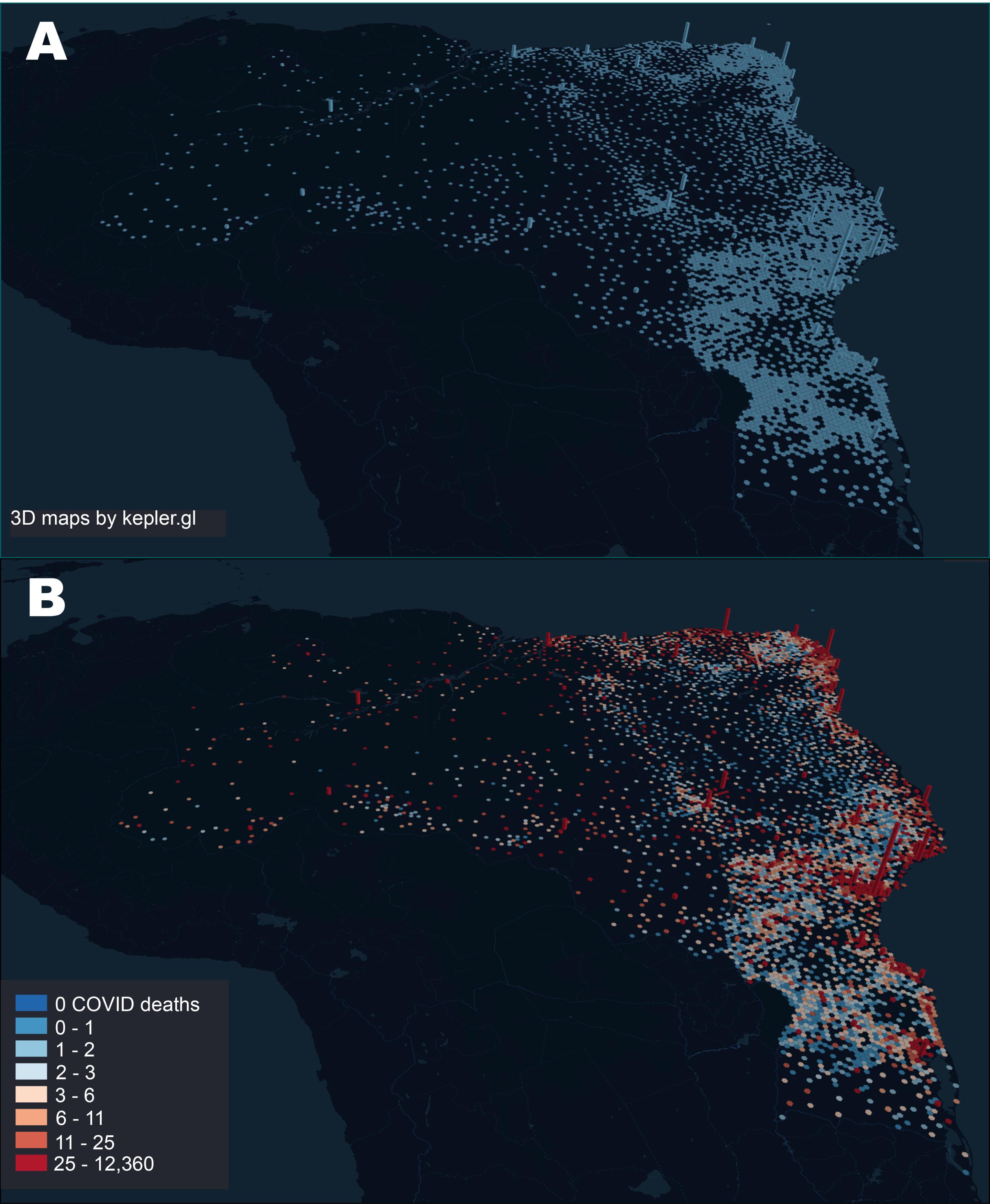 I percorsi attraverso i quali il COVID-19 si è diffuso in Brasile