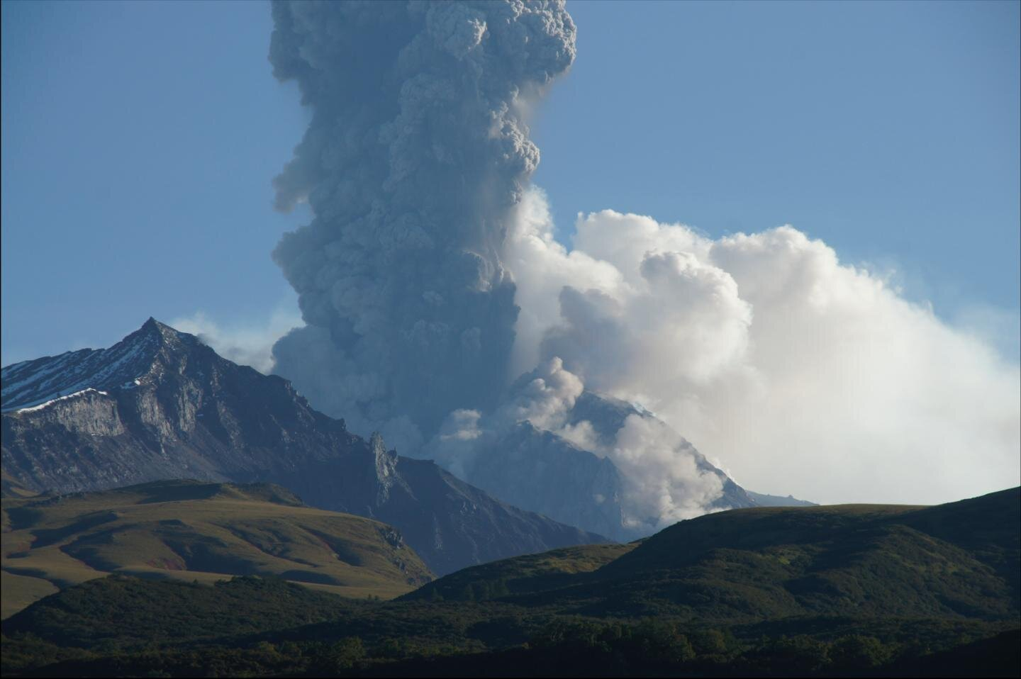 There isn't much in Kamchatka, a remote peninsula in northeastern Russia just across the Bering Sea from Alaska, besides an impressive population of brown bears and the most explosive volcano in the world.