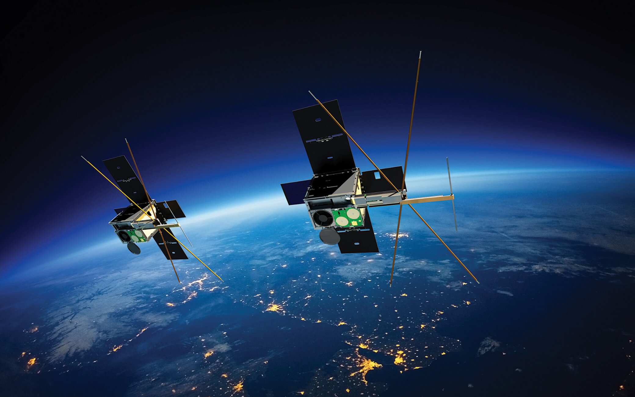 World-leading CubeSat satellites launched