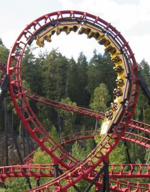 World S Smoothest Roller Coaster Ride Swedish Mathematicians Draw The Perfect Loop